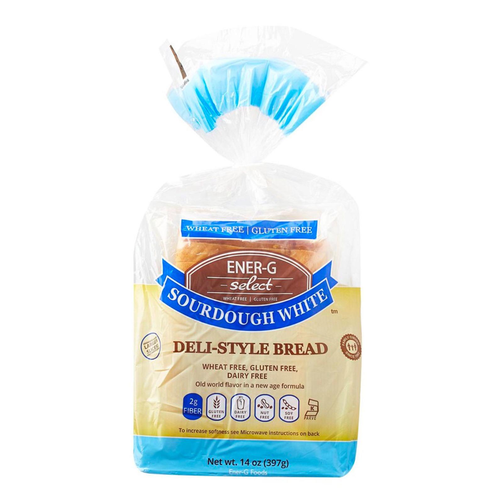 Ener-G Deli Style White Bread Gluten Free
