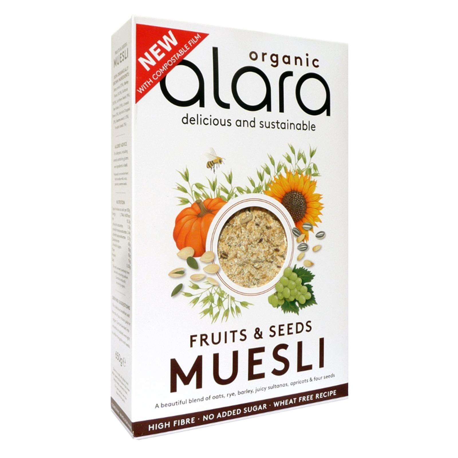 Alara Organic Fruits and Seeds Muesli