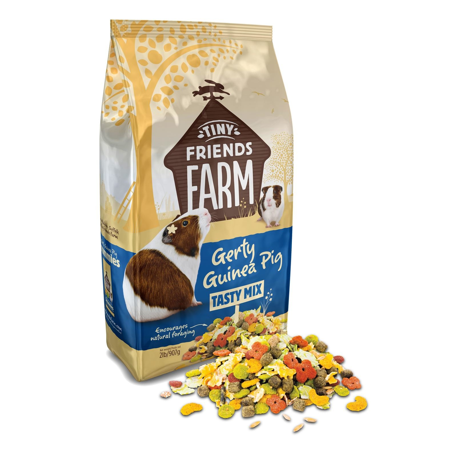 Supreme Tiny Friends Farm Gerty Guinea Pig Tasty Mix