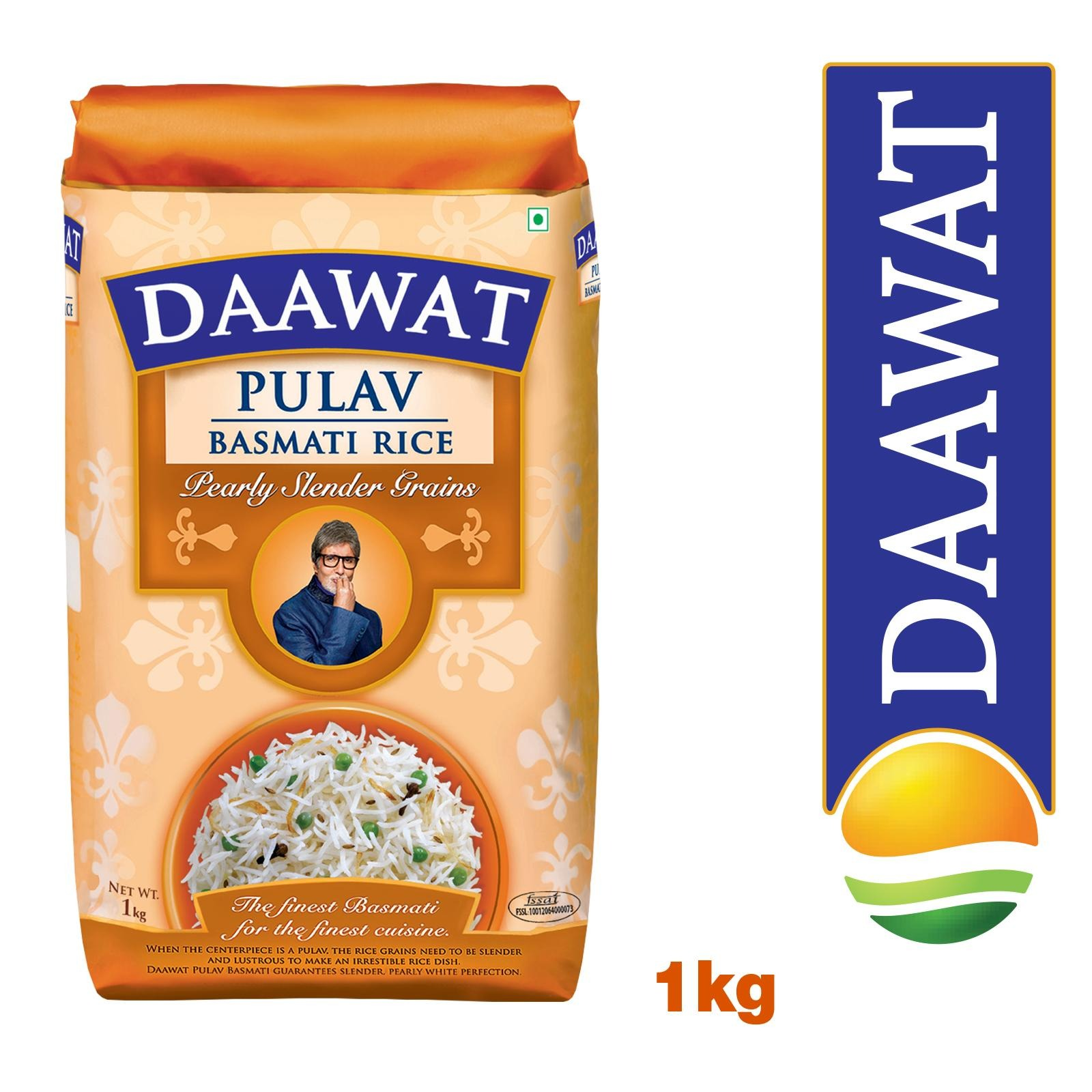 Daawat Pulav Basmati Rice - By Sonnamera