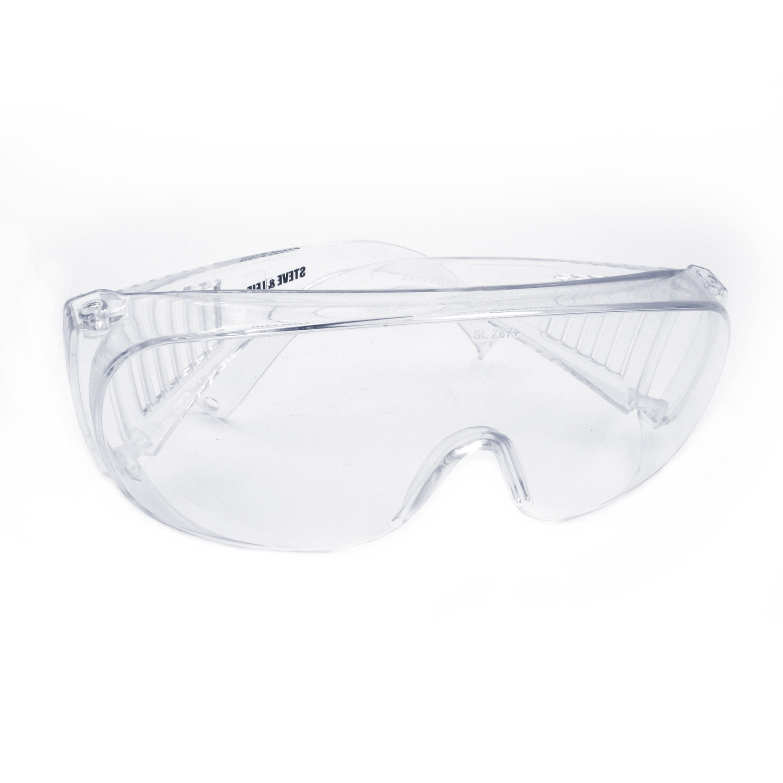 Steve & Leif Wide Lens Safety Glasses (Clear)
