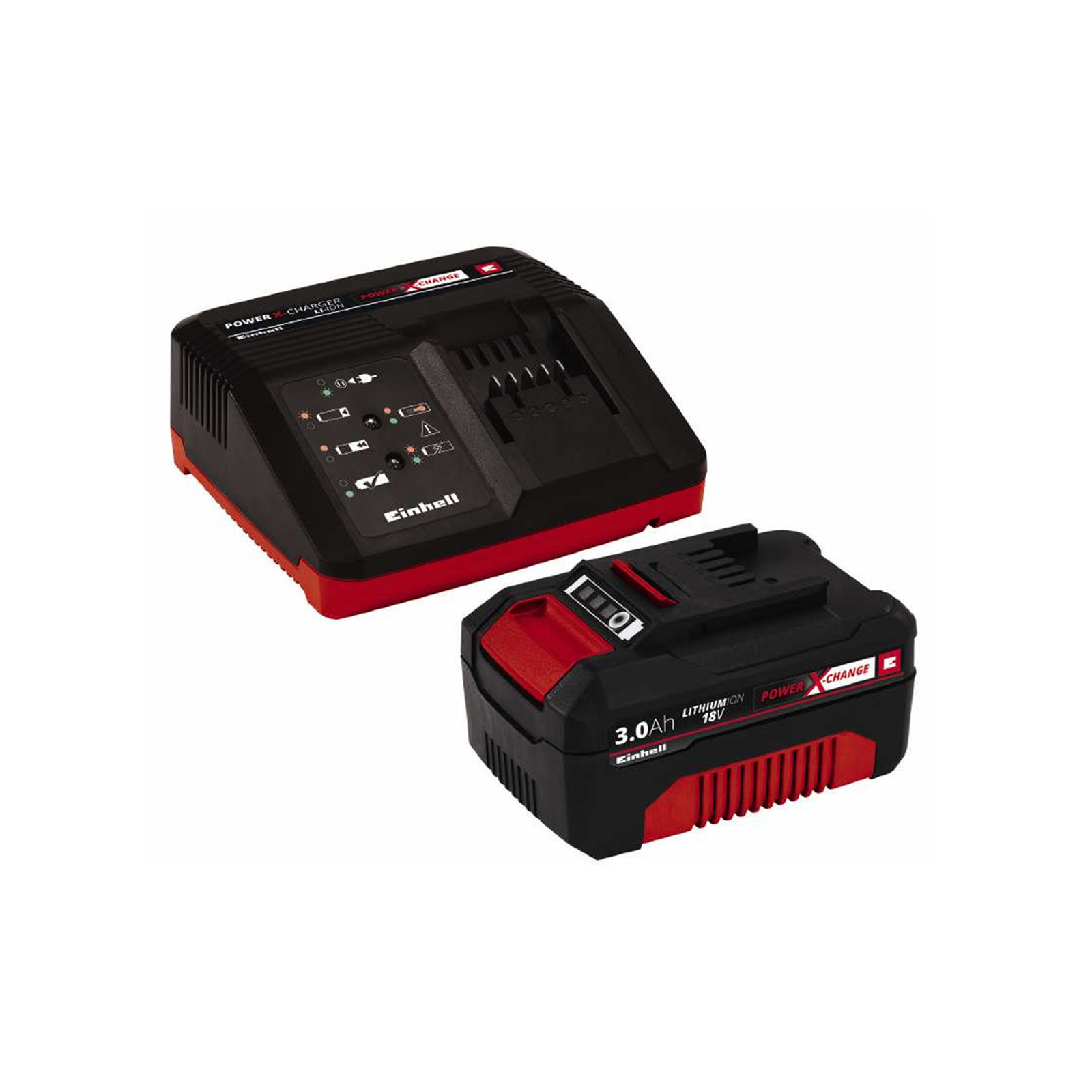 Einhell PXC Starter Kit (18V) Battery & Charger Set 3.0Ah