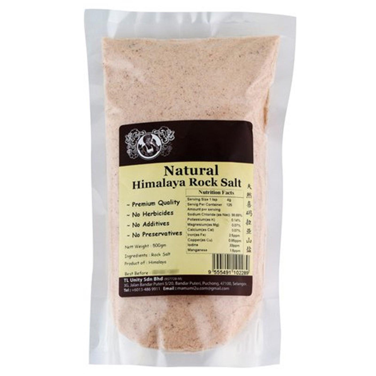 Mamami Natural Himalaya Rock Salt