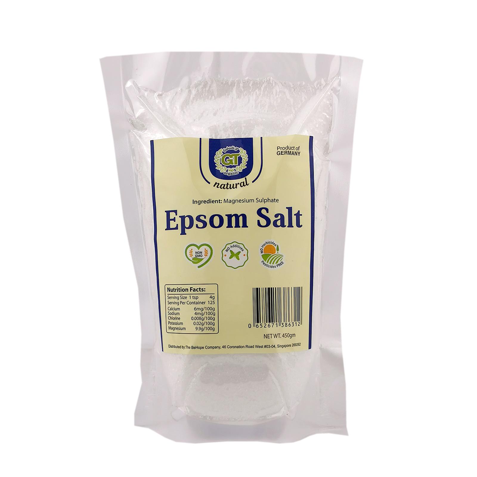 Gabrielle T Epsom Salt (Food Grade - Germany)