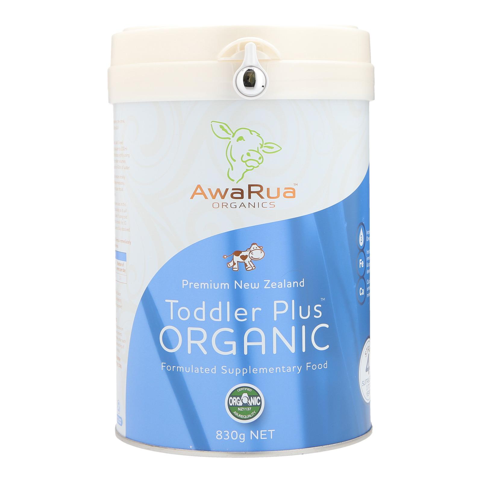 AwaRua Organics Organic Toddler Plus