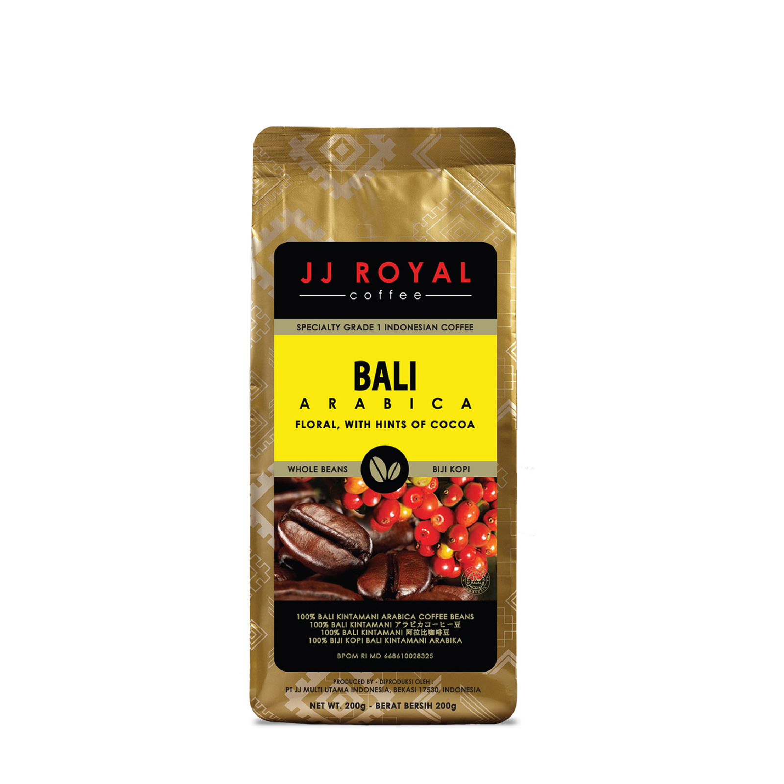 JJ Royal Coffee Bali 100% Arabica (Bean)