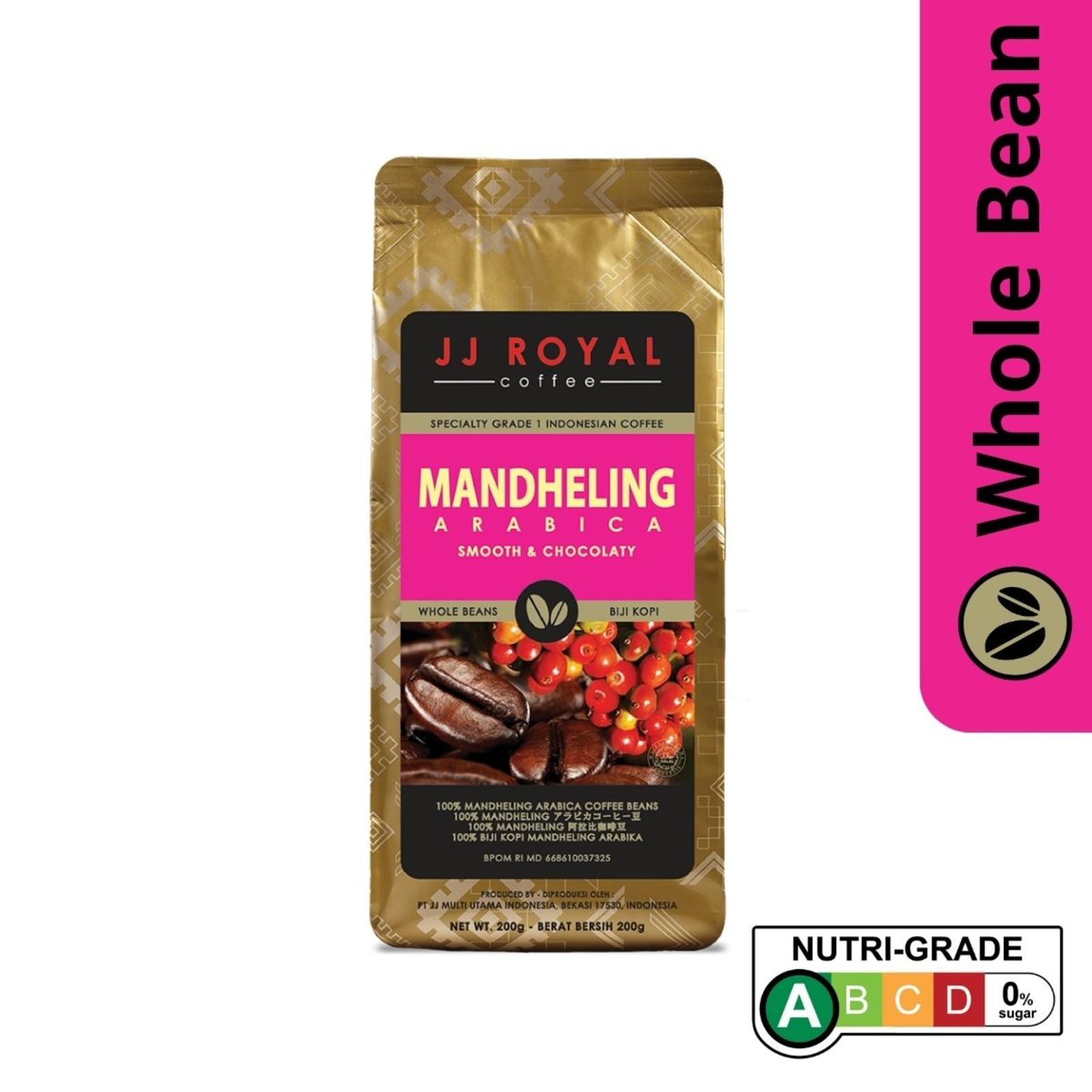 JJ Royal Coffee Mandheling 100% Arabica (Bean)