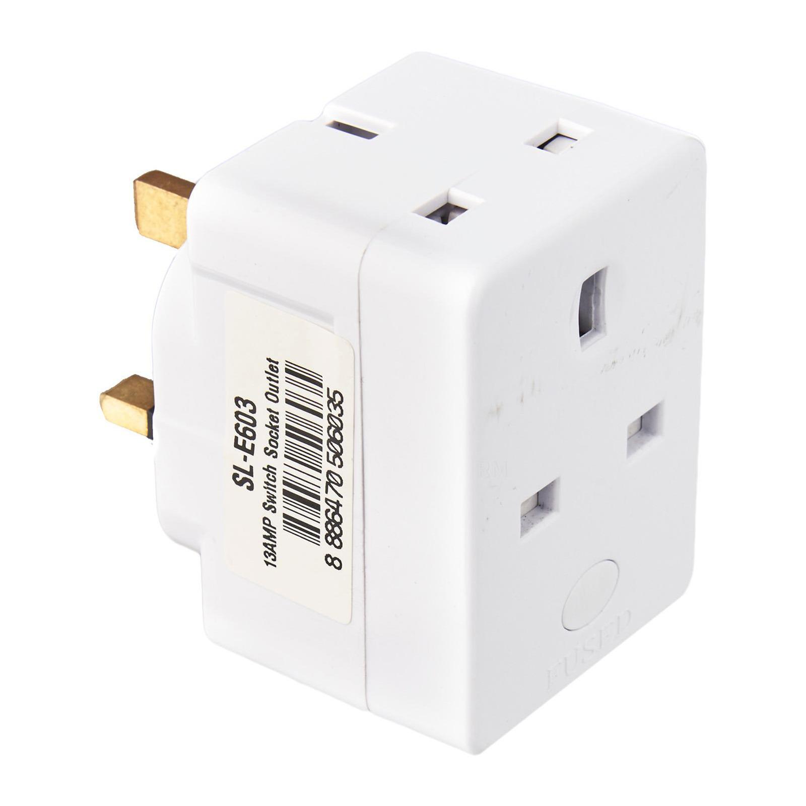 SUM 13AMP Socket Multi Plug