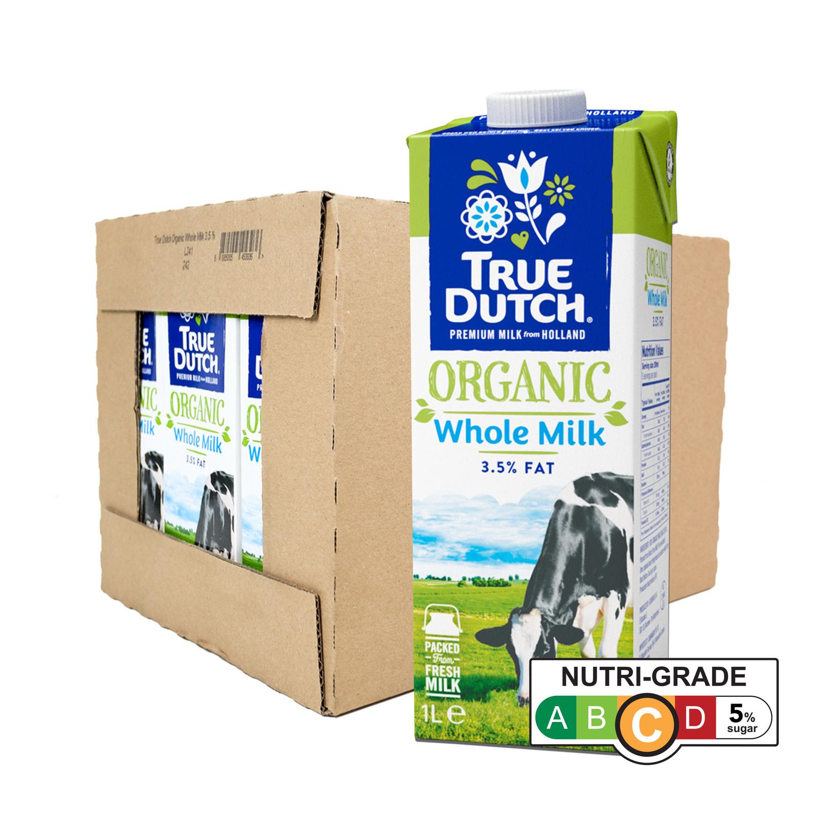True Dutch Organic Whole Milk - Case - By Sonnamera