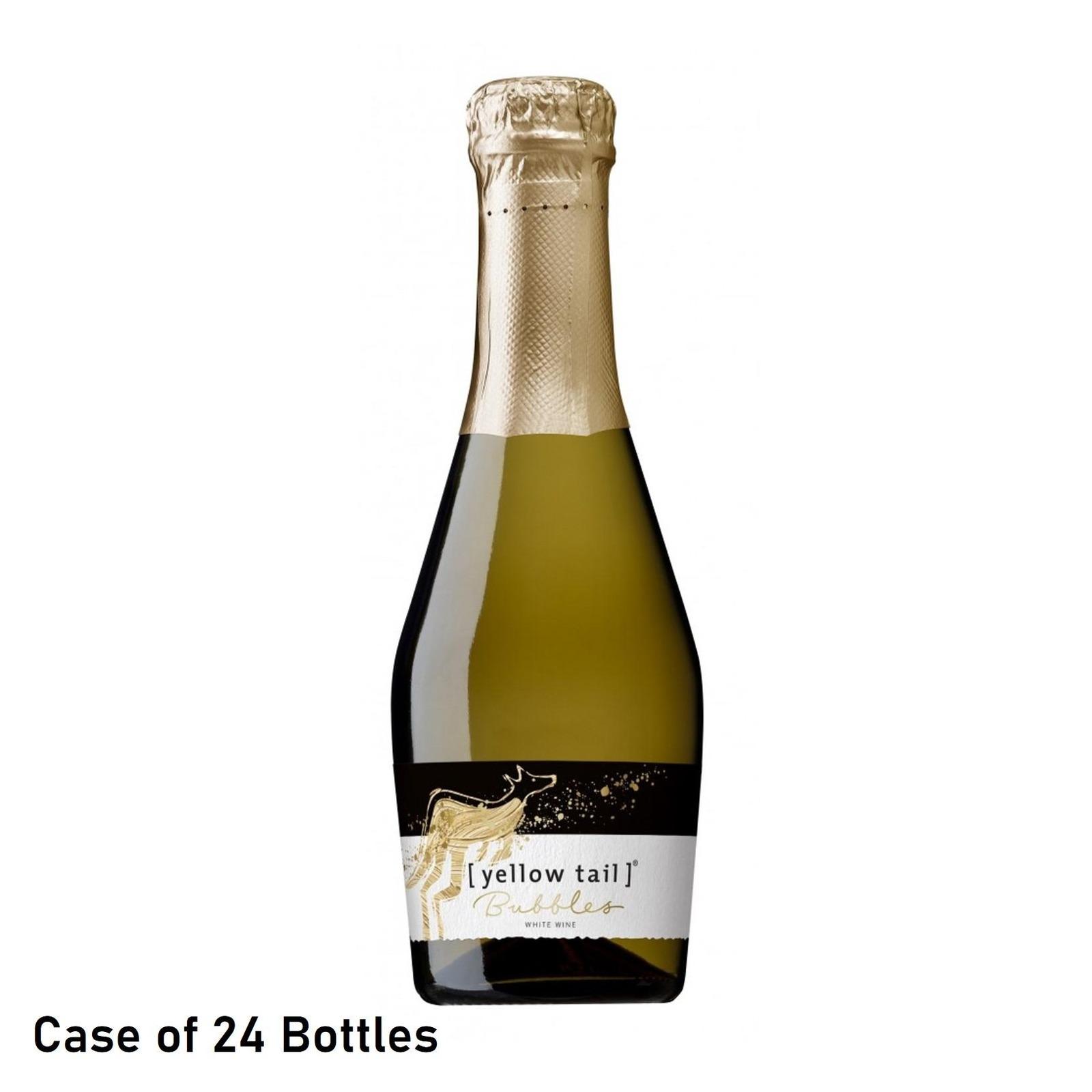 Yellow Tail Mini Bubbles- Case 24