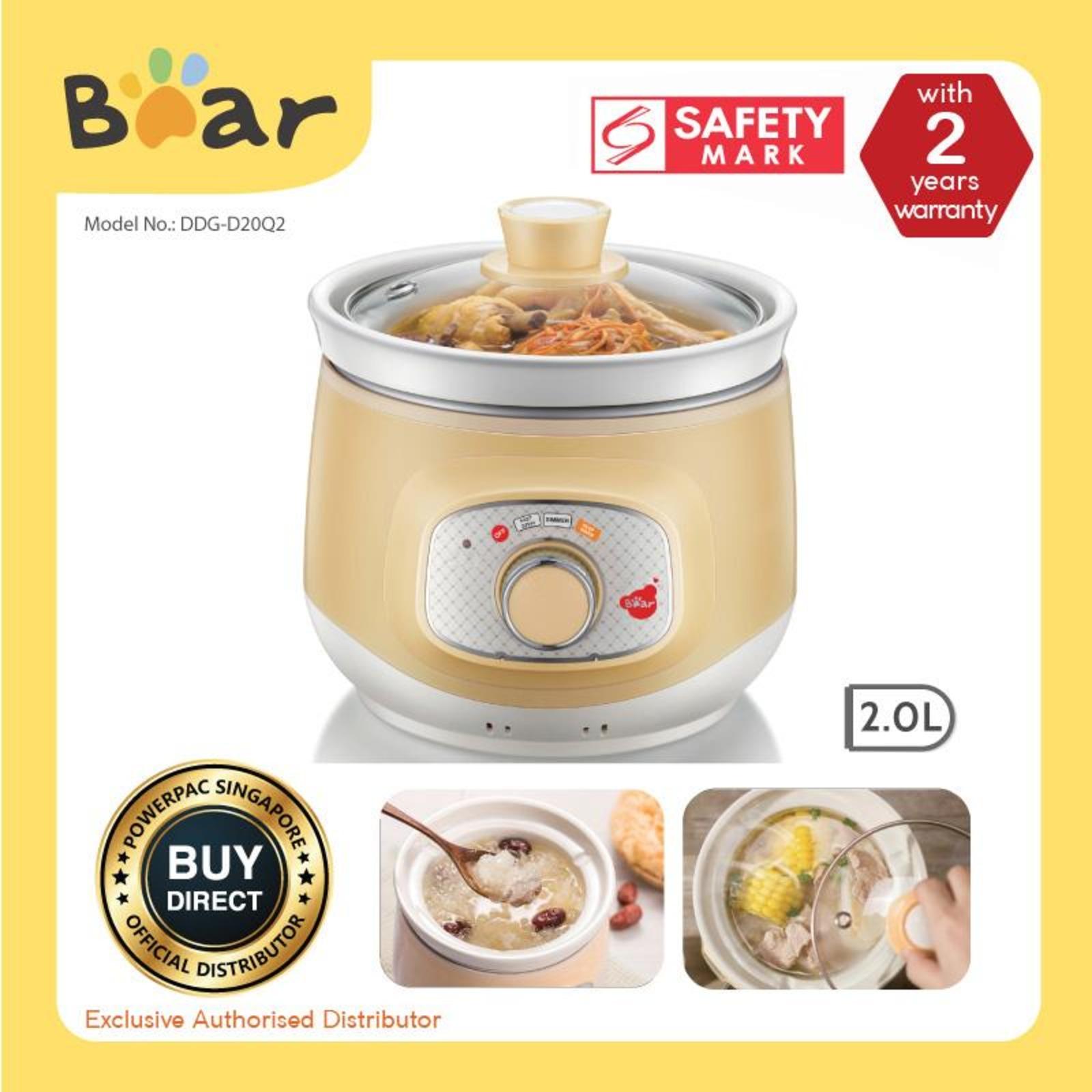 Bear Slow Cooker - Ceramic DDG-D20Q2
