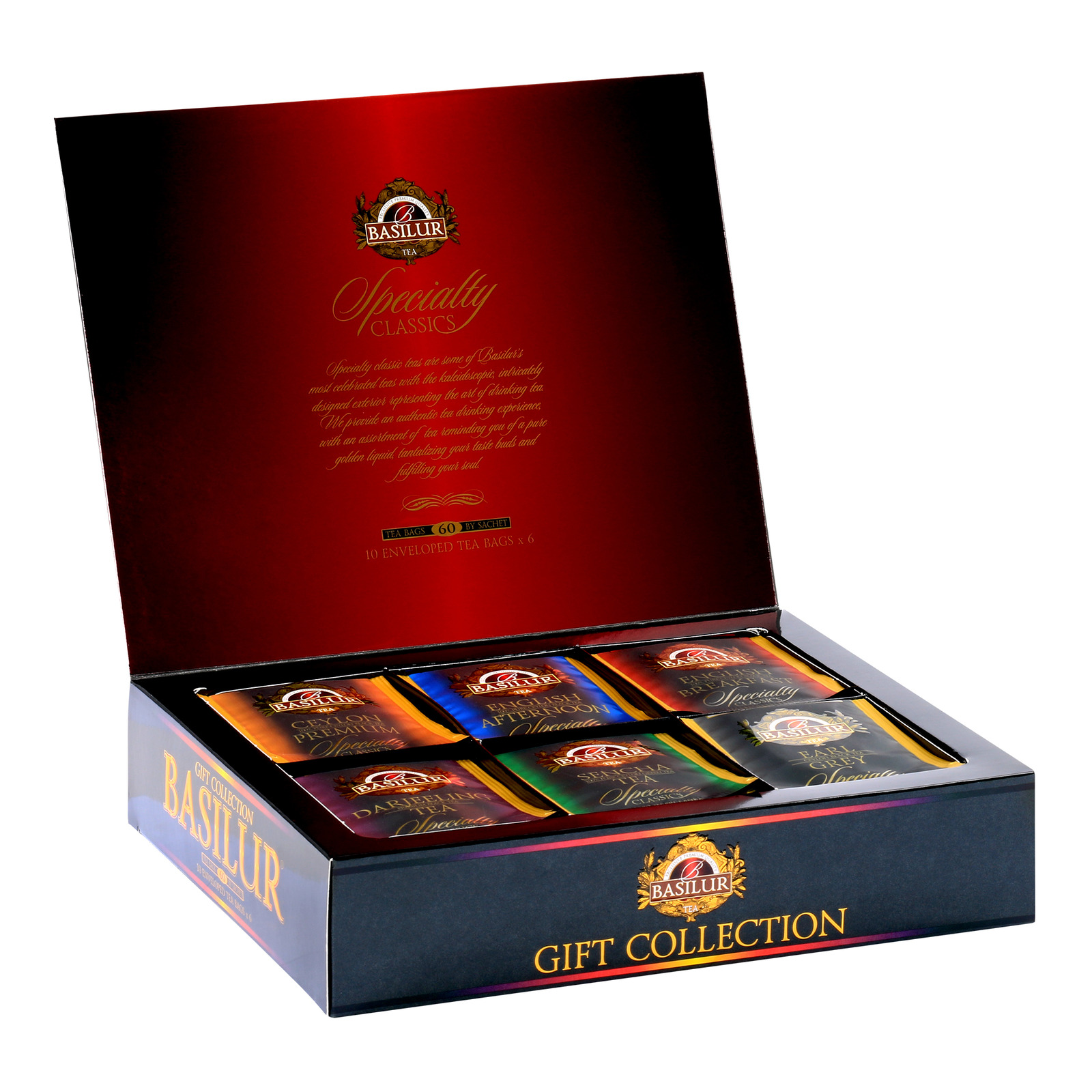 Basilur Gift Collection - Specialty Classics Assorted Tea