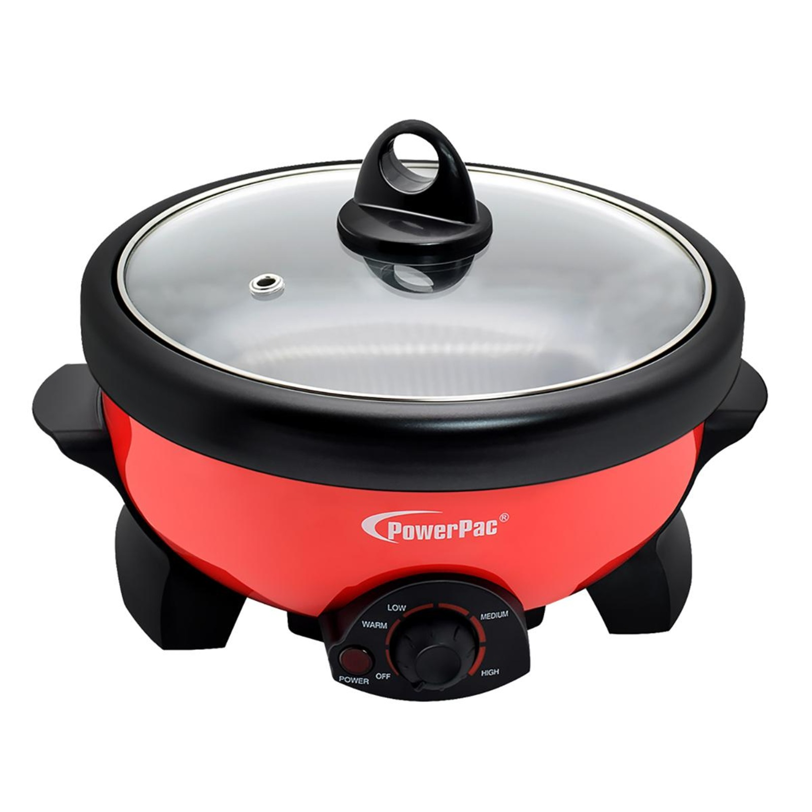 PowerPac 2L 2in1 Multi Cooker Steamboat Hot Pot PPMC181