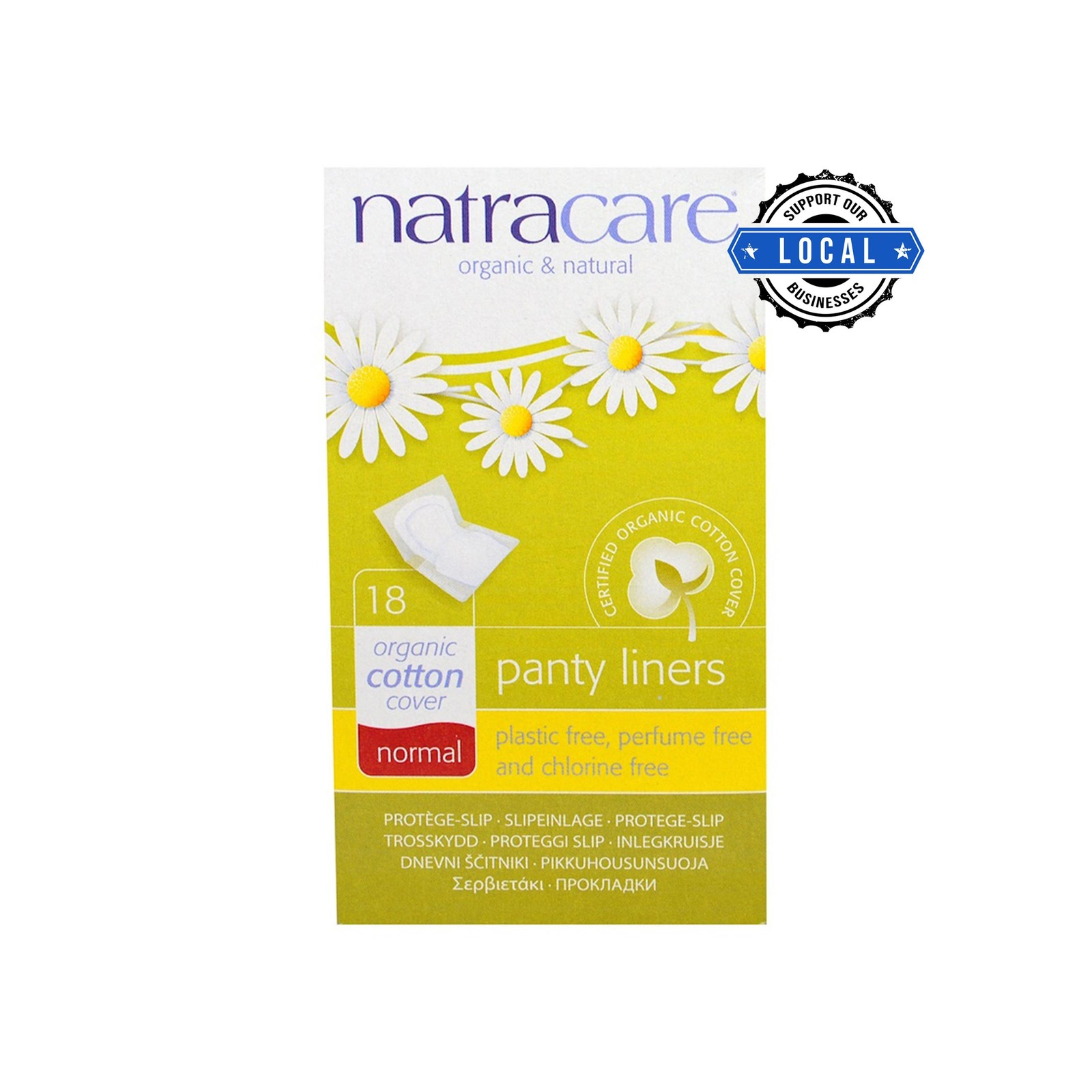 Natracare Panty Liners - Normal
