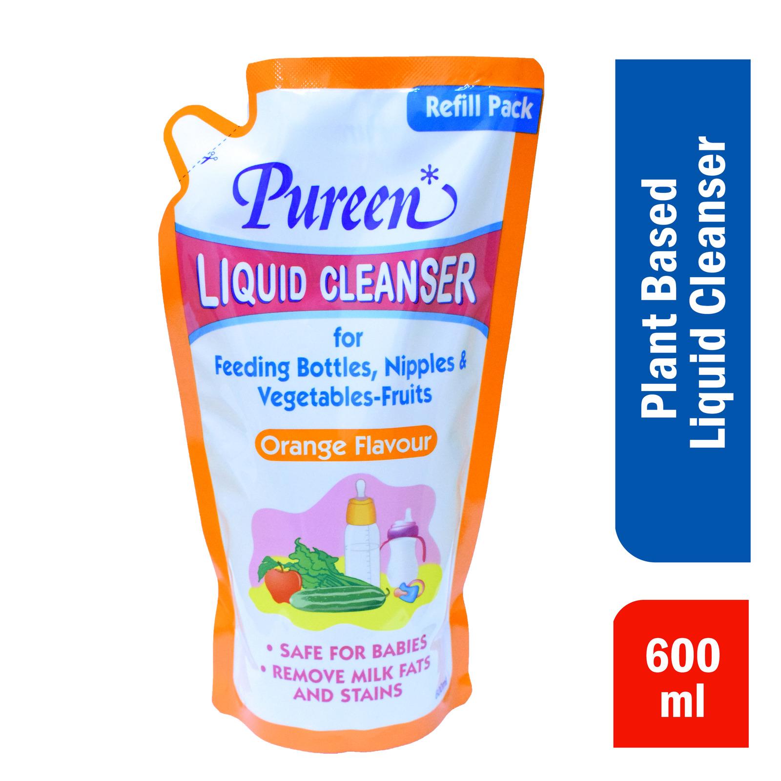 Pureen Liquid Cleanser Refill - Orange