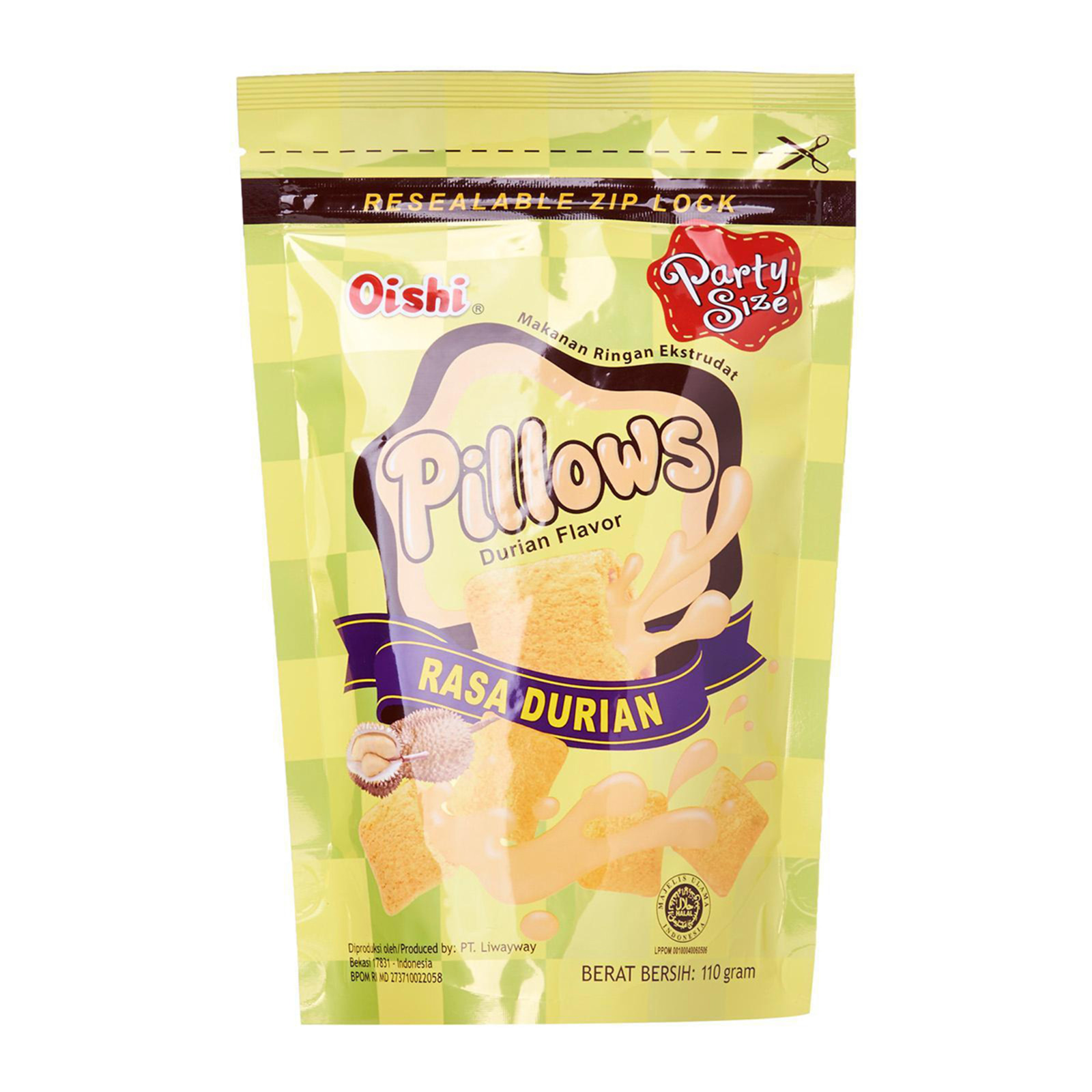 Oishi Pillows Party Size - Durian