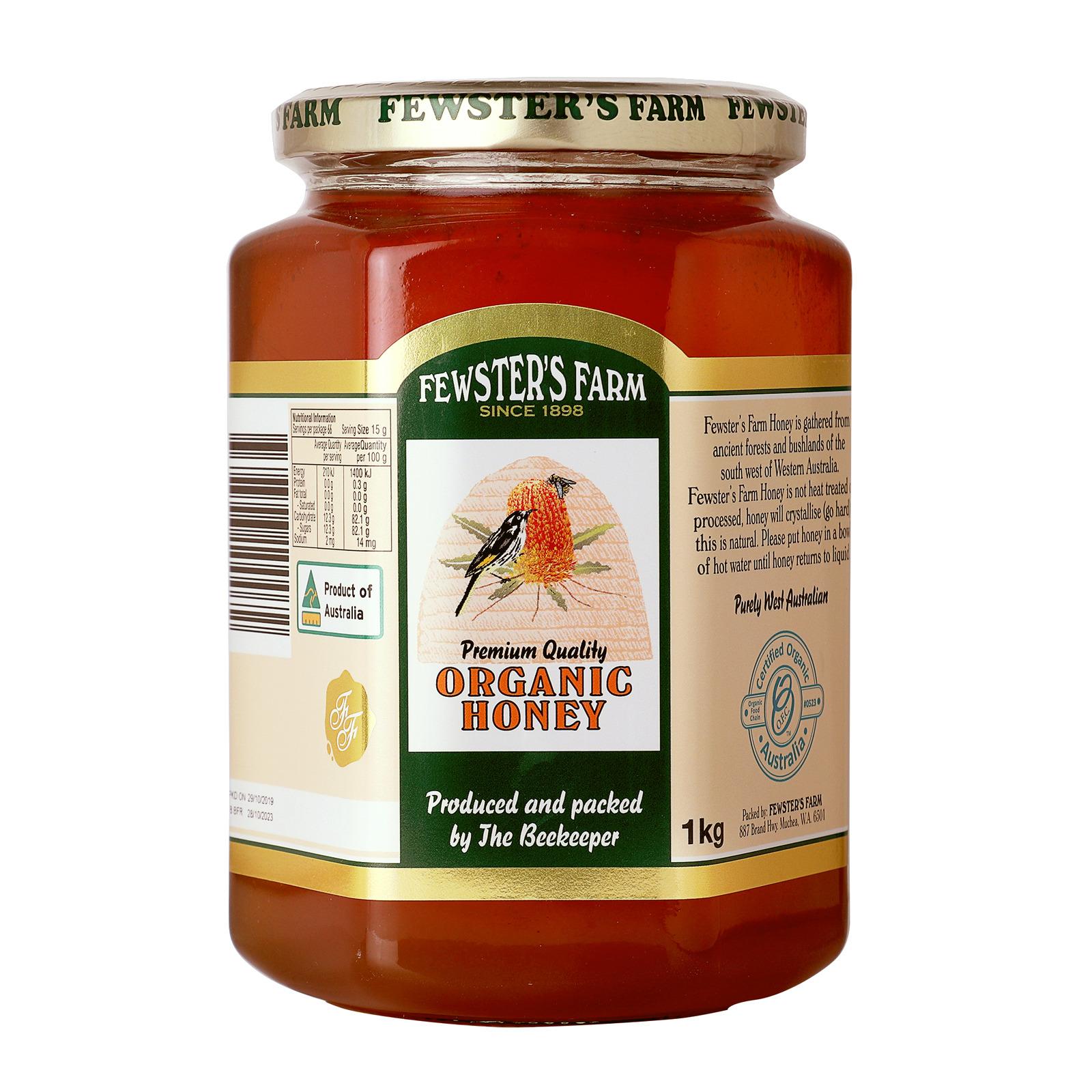 Fewster's Farm Organic Honey