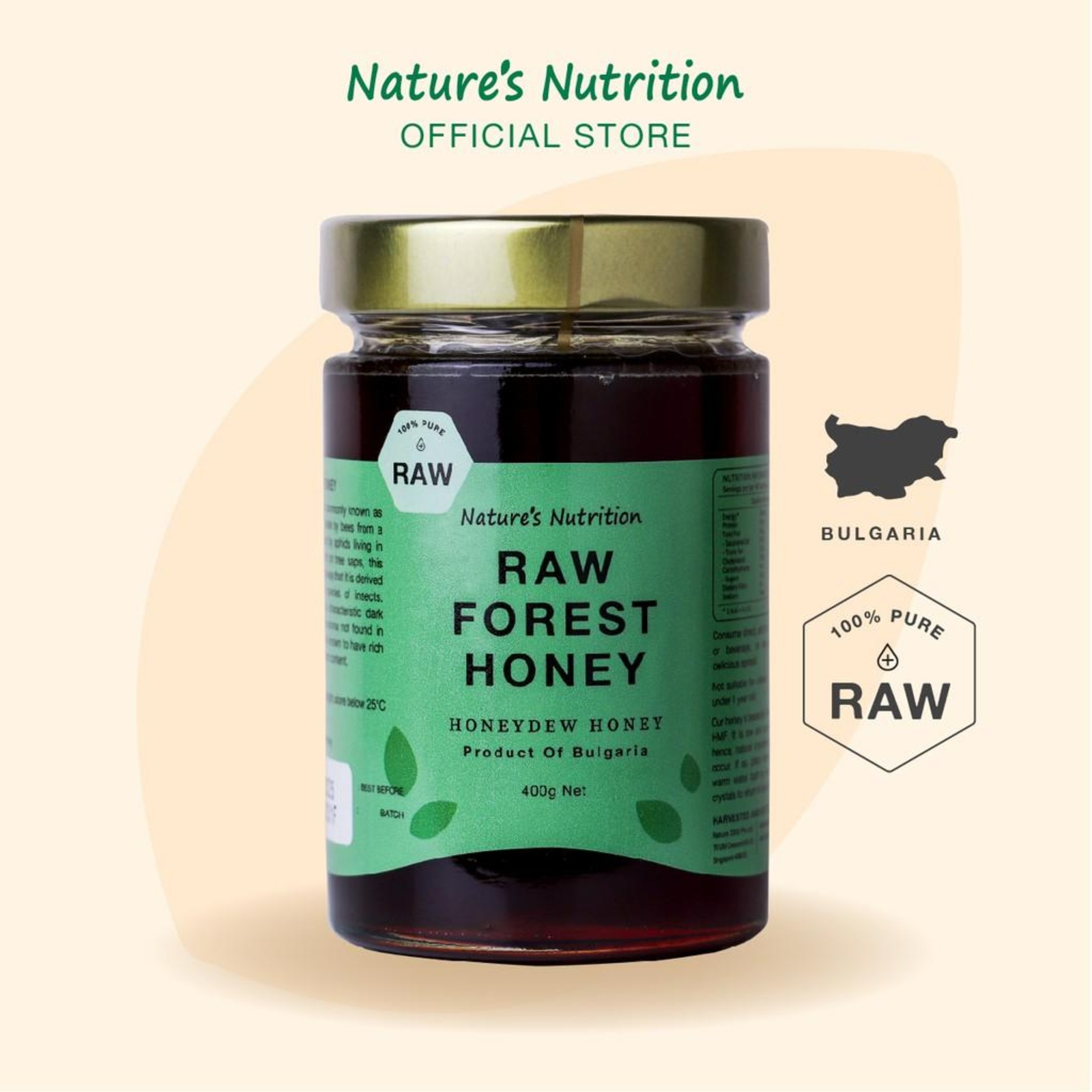Nature's Nutrition Forest Honey