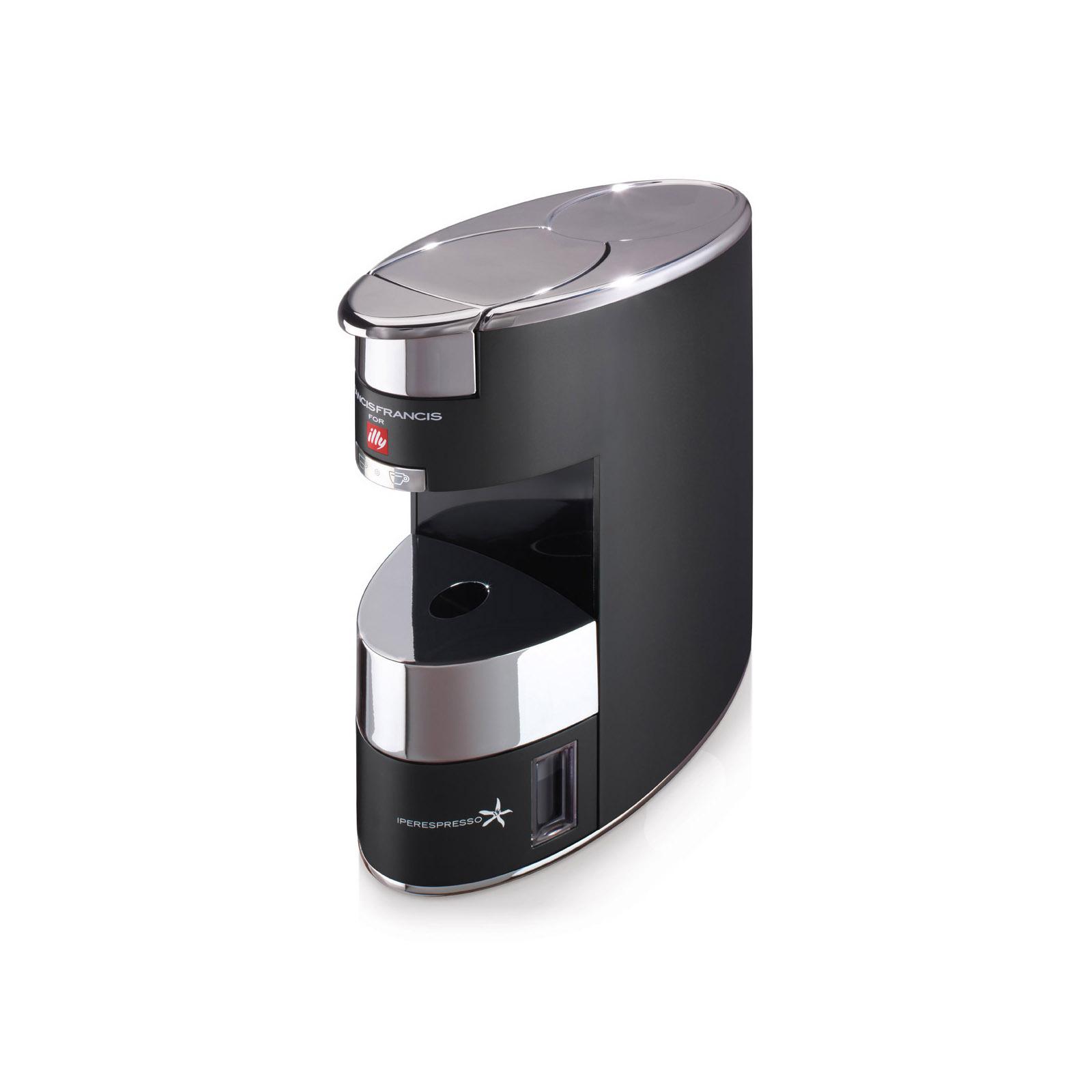 Francis Francis X9 IPSO Coffee Machine - Anodized Silver black