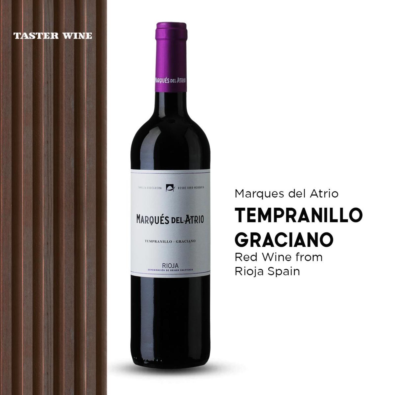 Marques Del Atrio Tempranillo Rioja - Red Wine