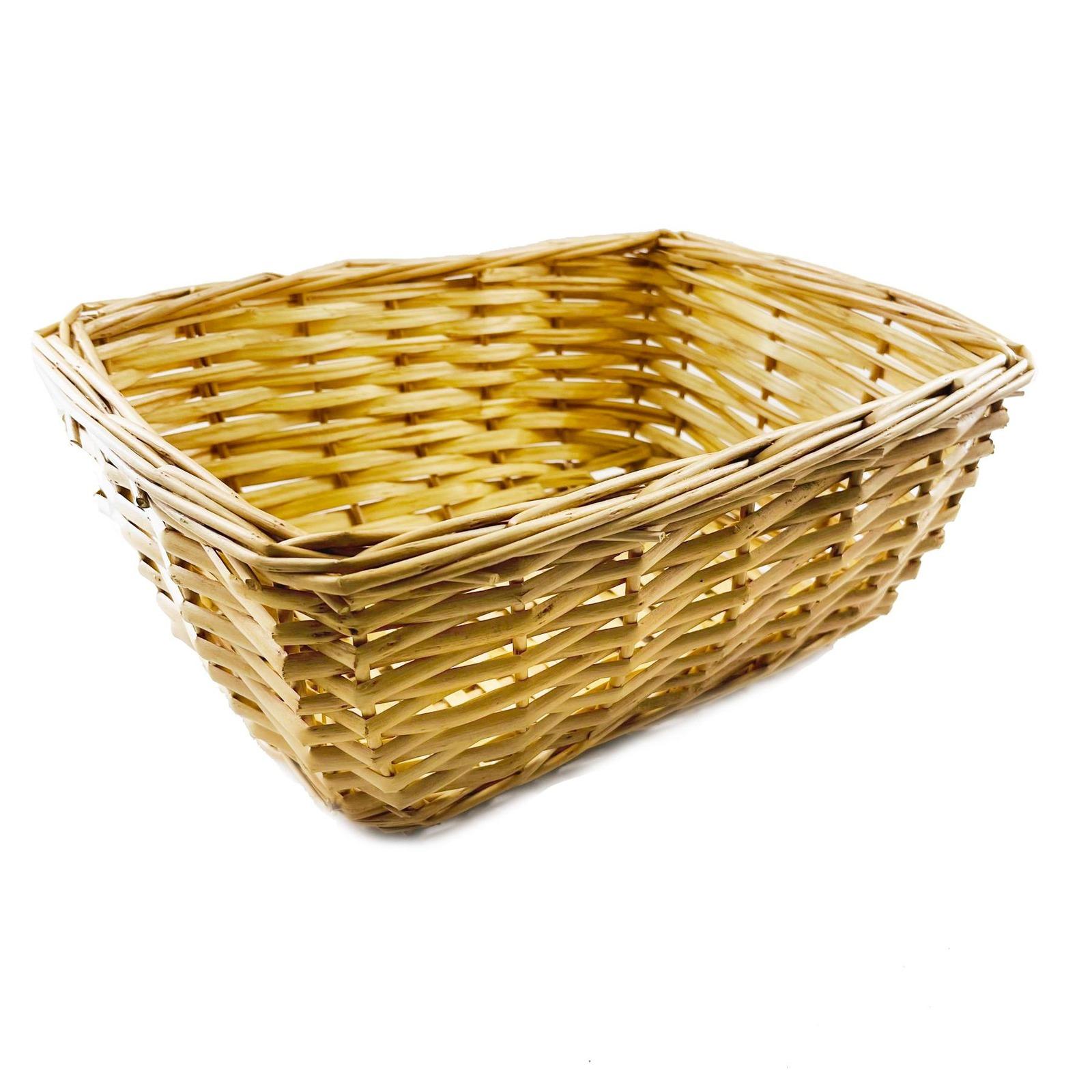The Paper Stone Cloth Rattan Basket with Cat Prints - Medium
