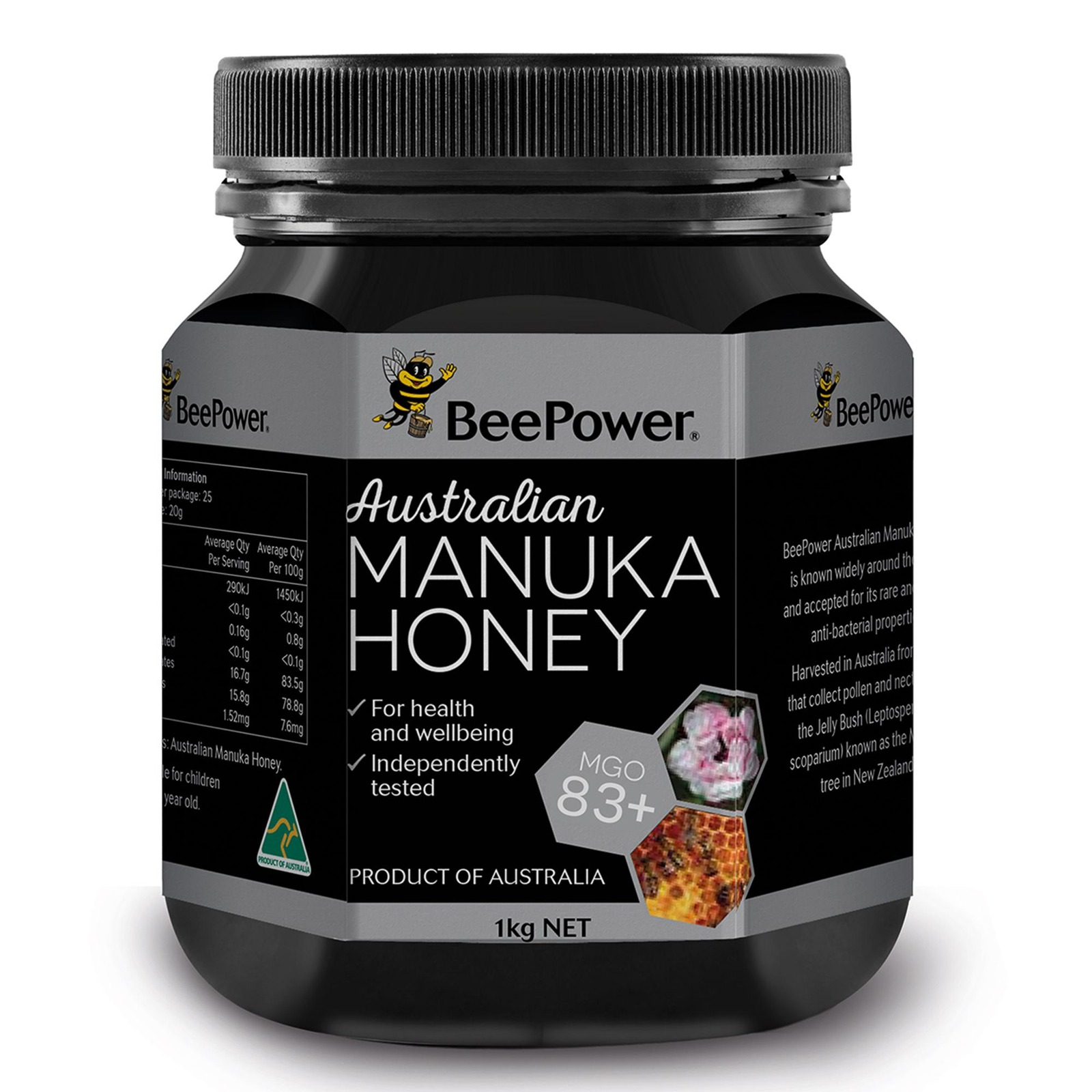 Bee Power Manuka MGO 83+