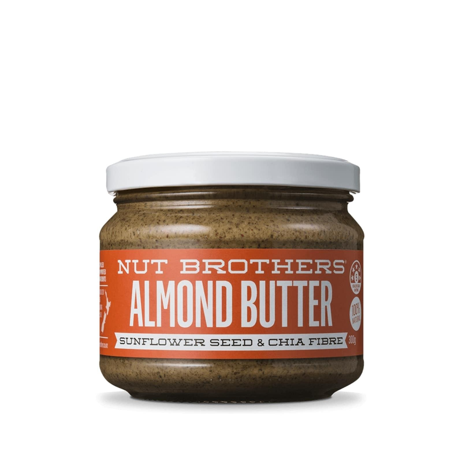 NUT BROTHERS Almond Butter Sunflower and Chia 300G