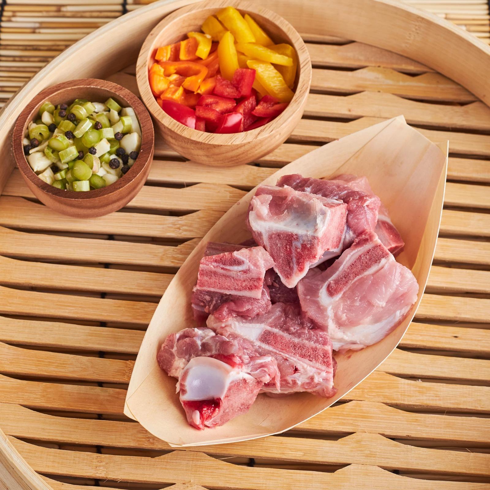 Aw's Market Pork Keybone W Meat