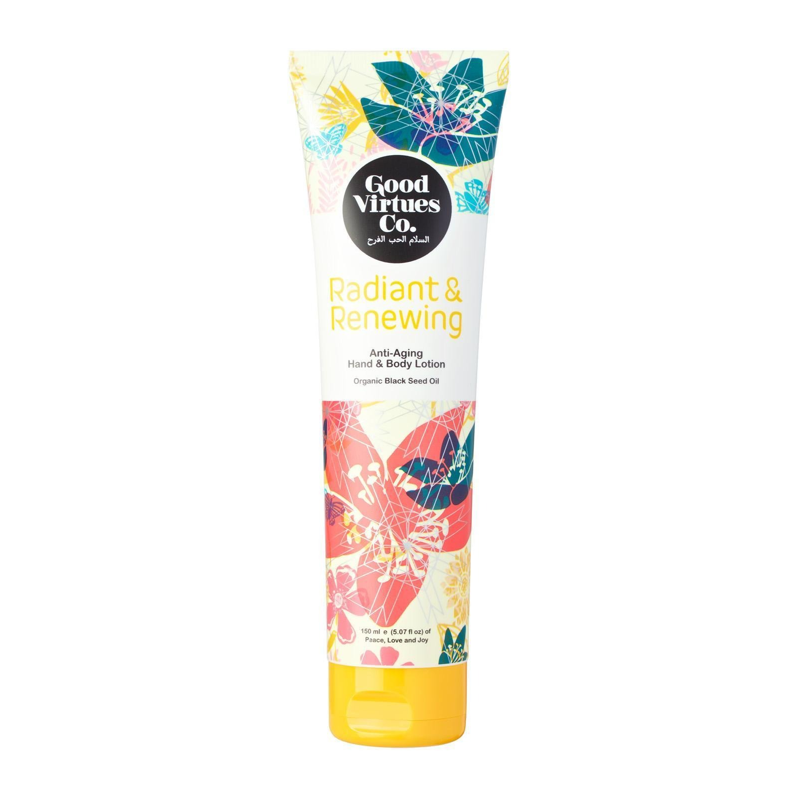 Good Virtues Co. Radiant & Renewing Anti-Aging Hand & Body Lotion