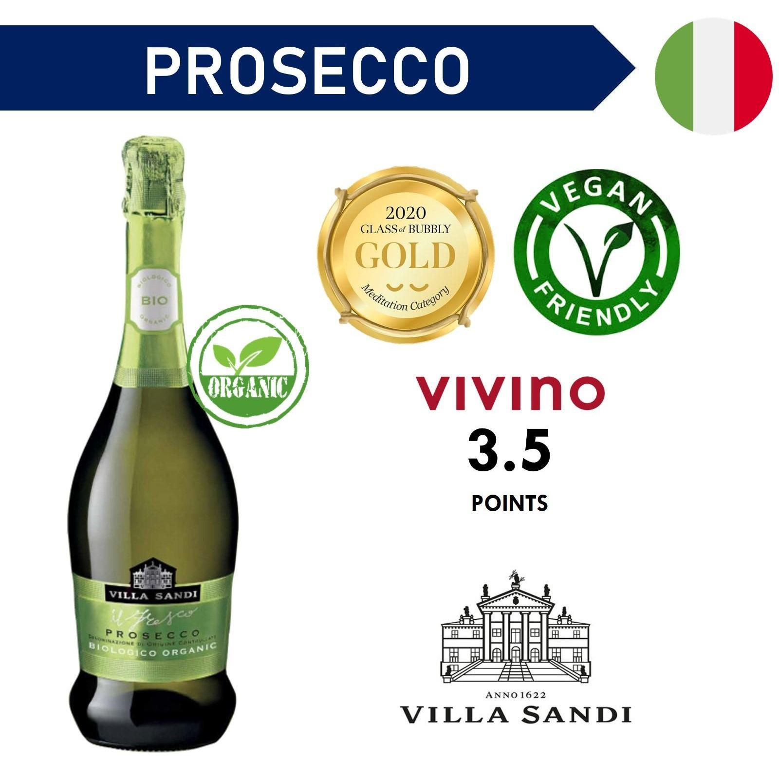 Villa Sandi ORGANIC Prosecco Brut NV