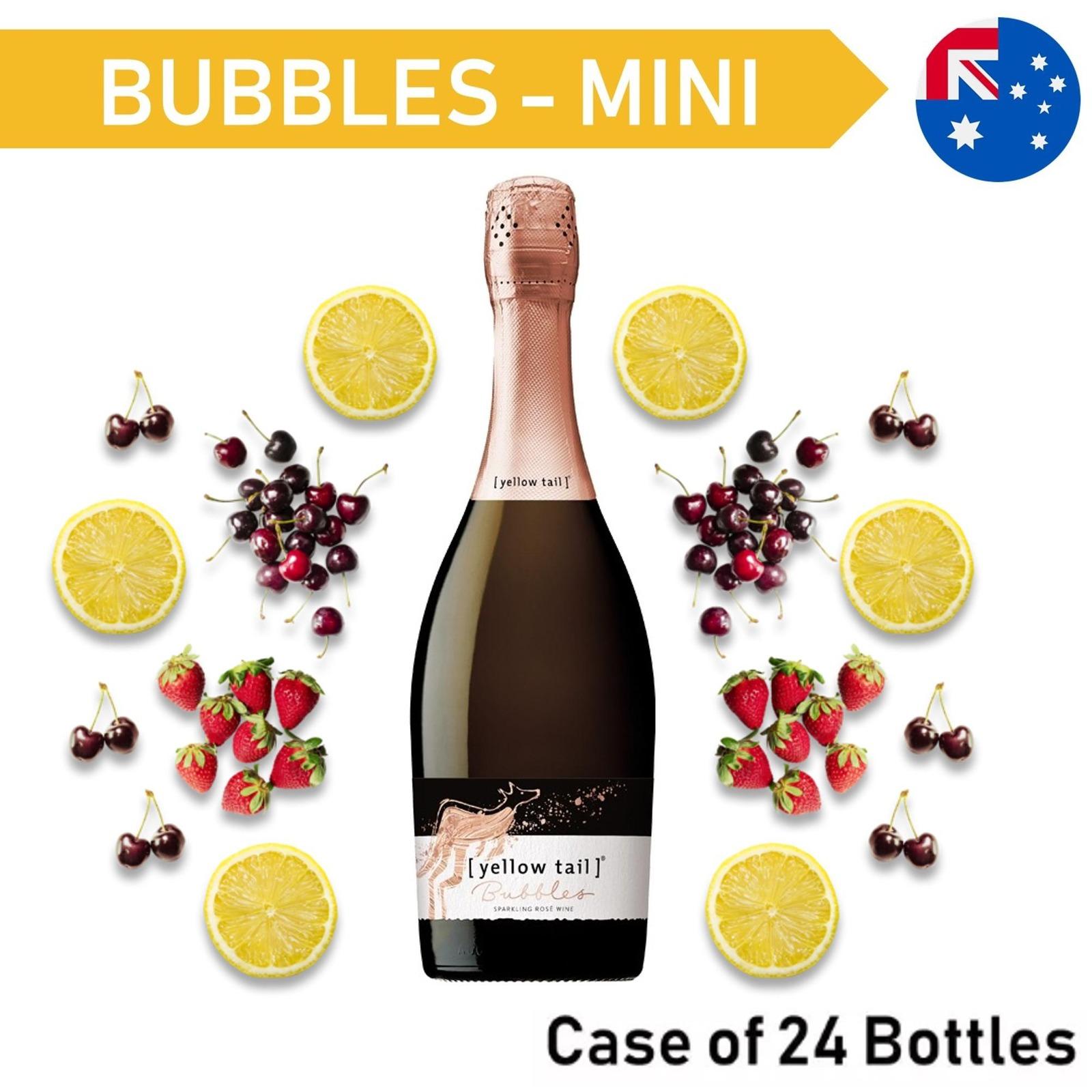 Yellow Tail Mini Bubbles Pink - Case24