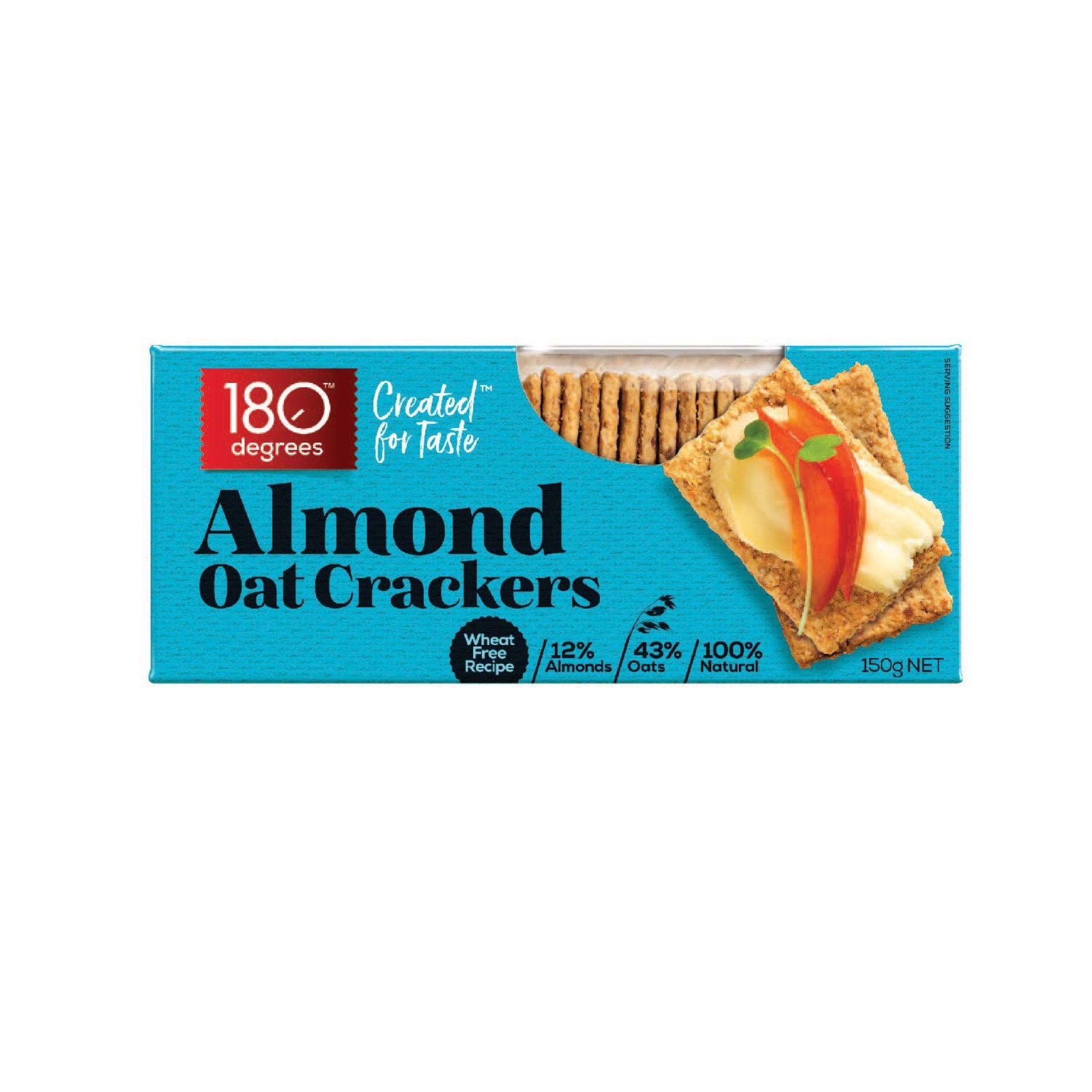 180 Degree Almond Oat Crackers