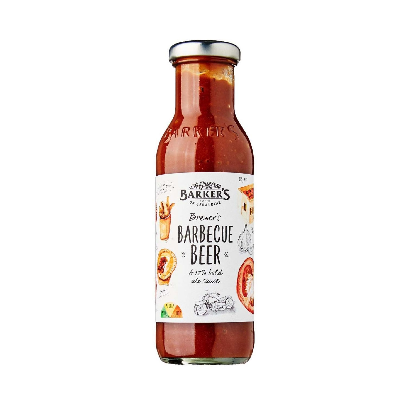 Baker's Of Geraldine Brewer's Barbeque Beer