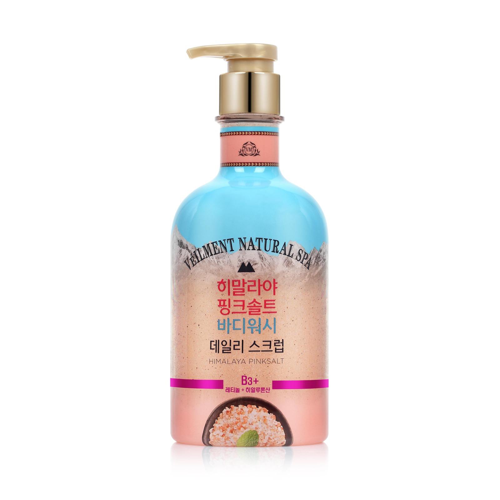 On The Body Himalaya Pink Salt Scrub Body Wash