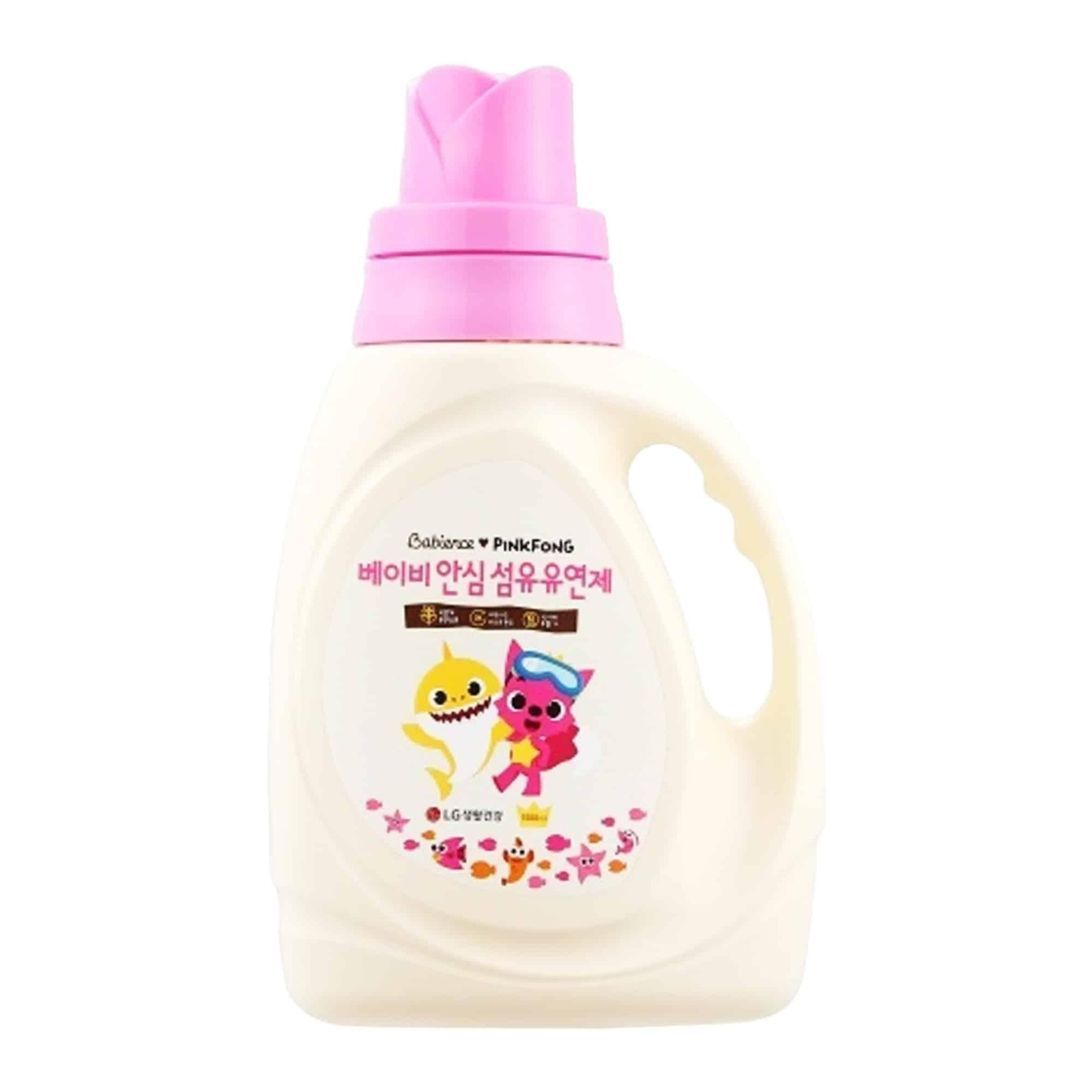 Babience Pinkfong Fabric Softener Container