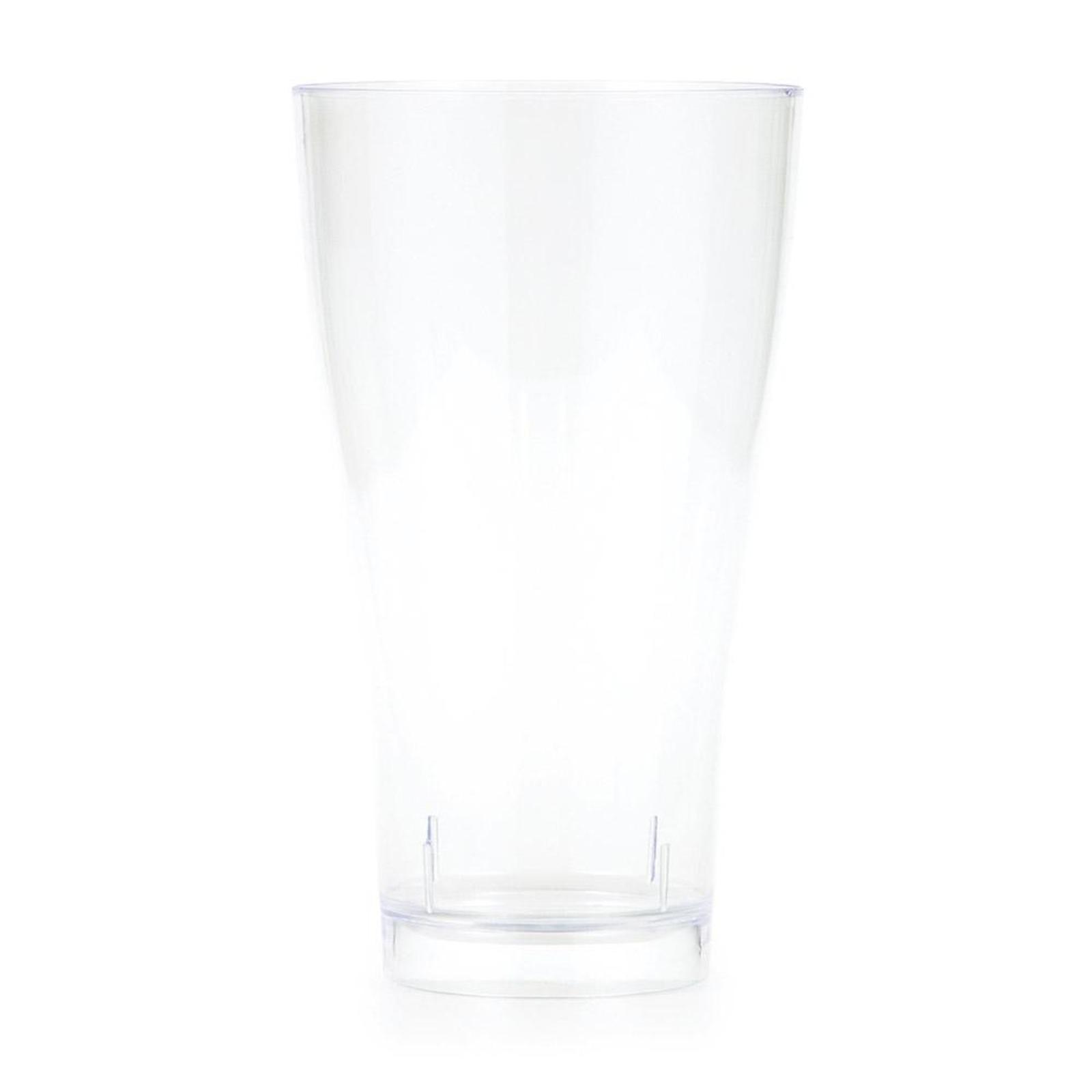 Creative Converting Clear 14 oz Plastic Pilsner Glasses