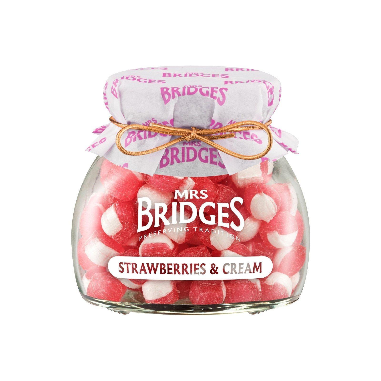 Mrs Bridges Old Fashion Sweet Strawberry And Cream