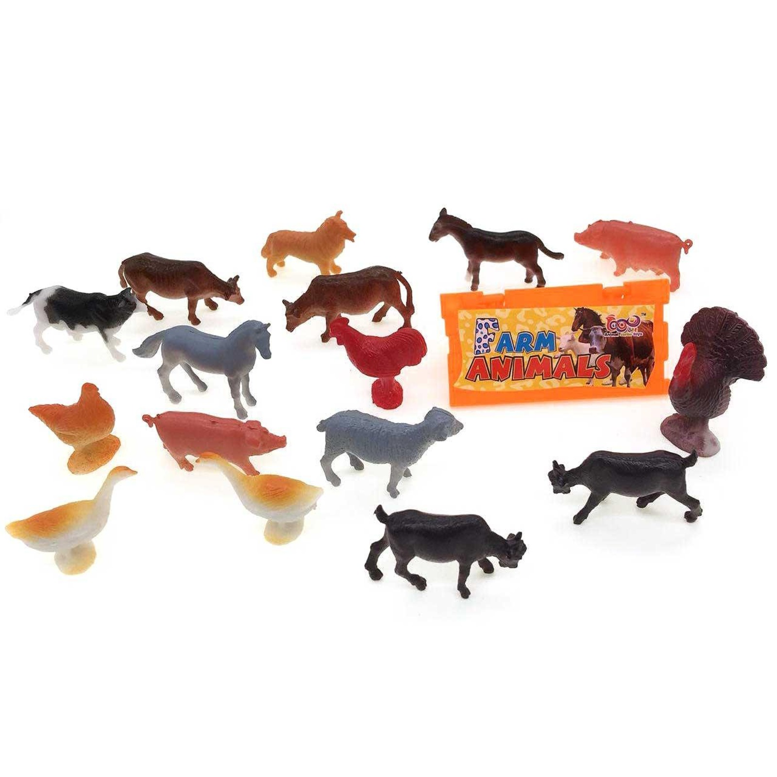 MTRADE Mini Farm Animals Toy Set