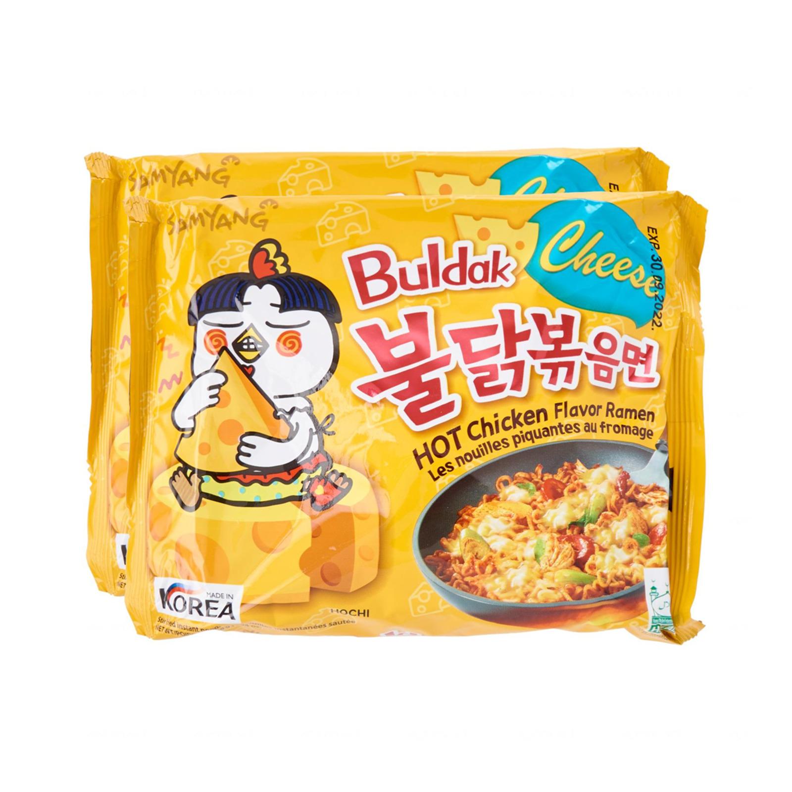 Samyang Hot Chicken Cheese Ramen Single Packet