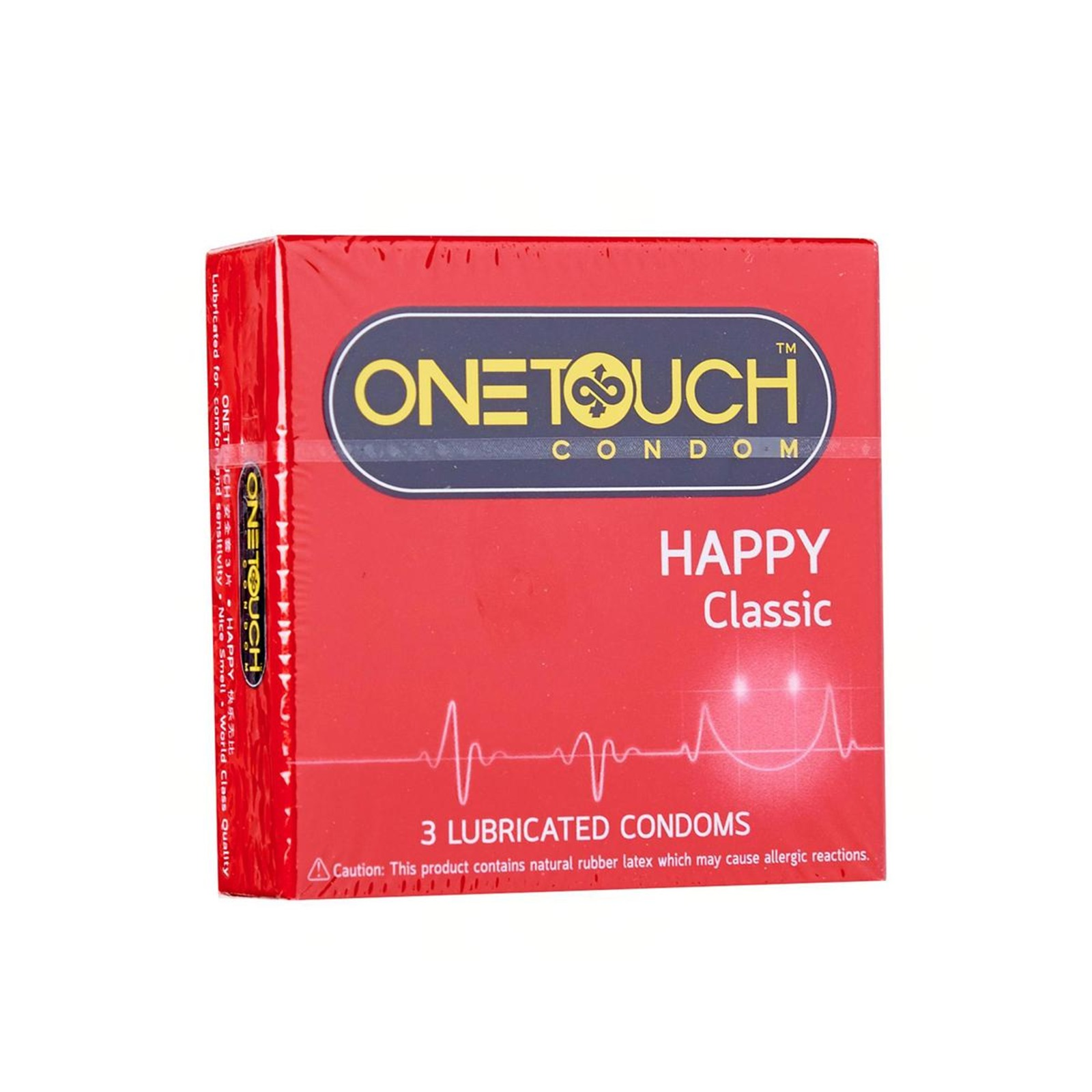 ONE TOUCH Condom - Happy