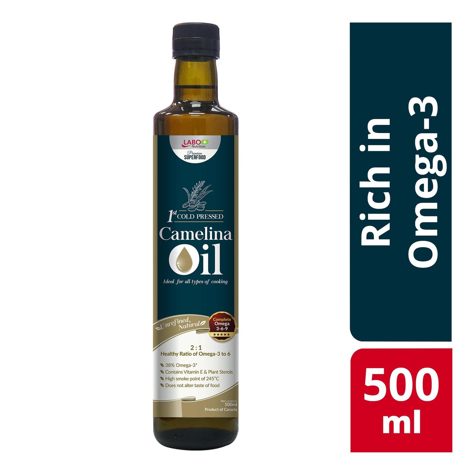 LABO Nutrition Camelina Oil