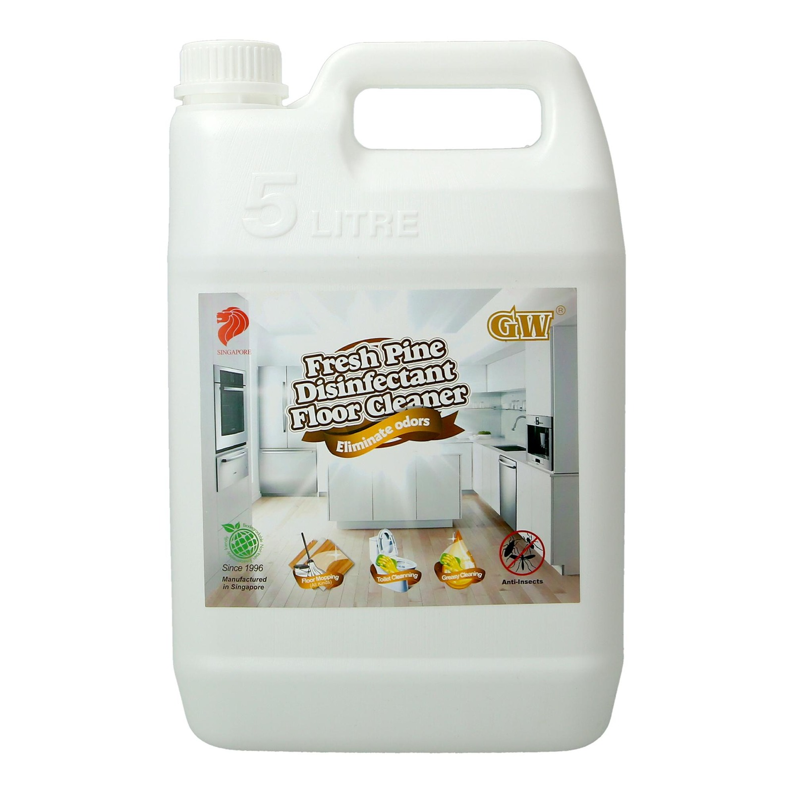 GW Disinfectant Floor Cleaner - Fresh Pine
