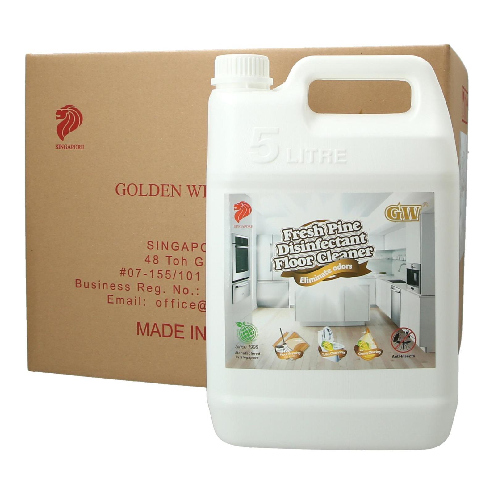 GW Disinfectant Floor Cleaner Carton - Fresh Pine