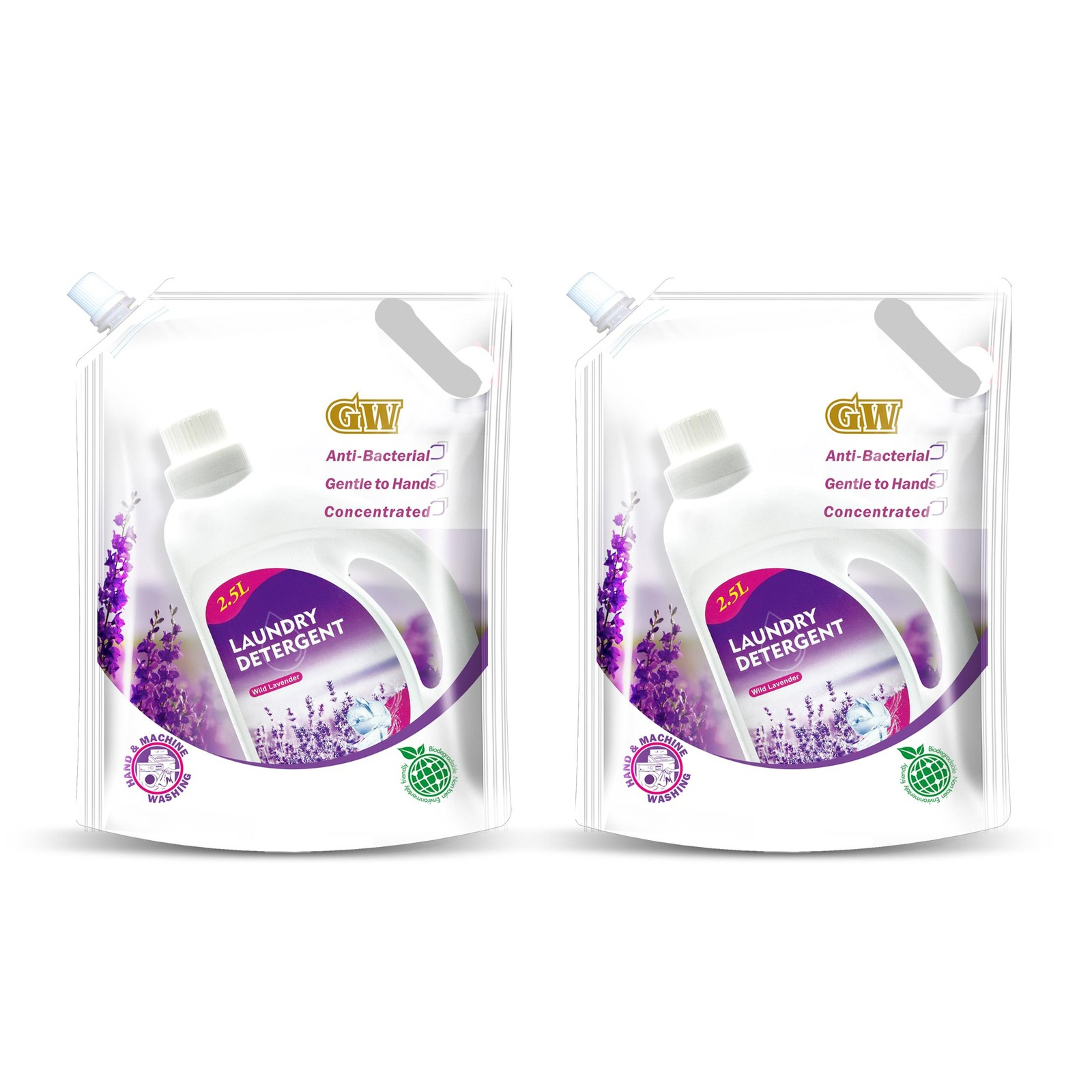 GW Anti-bacterial Laundry Detergent Pack - Wild Lavender