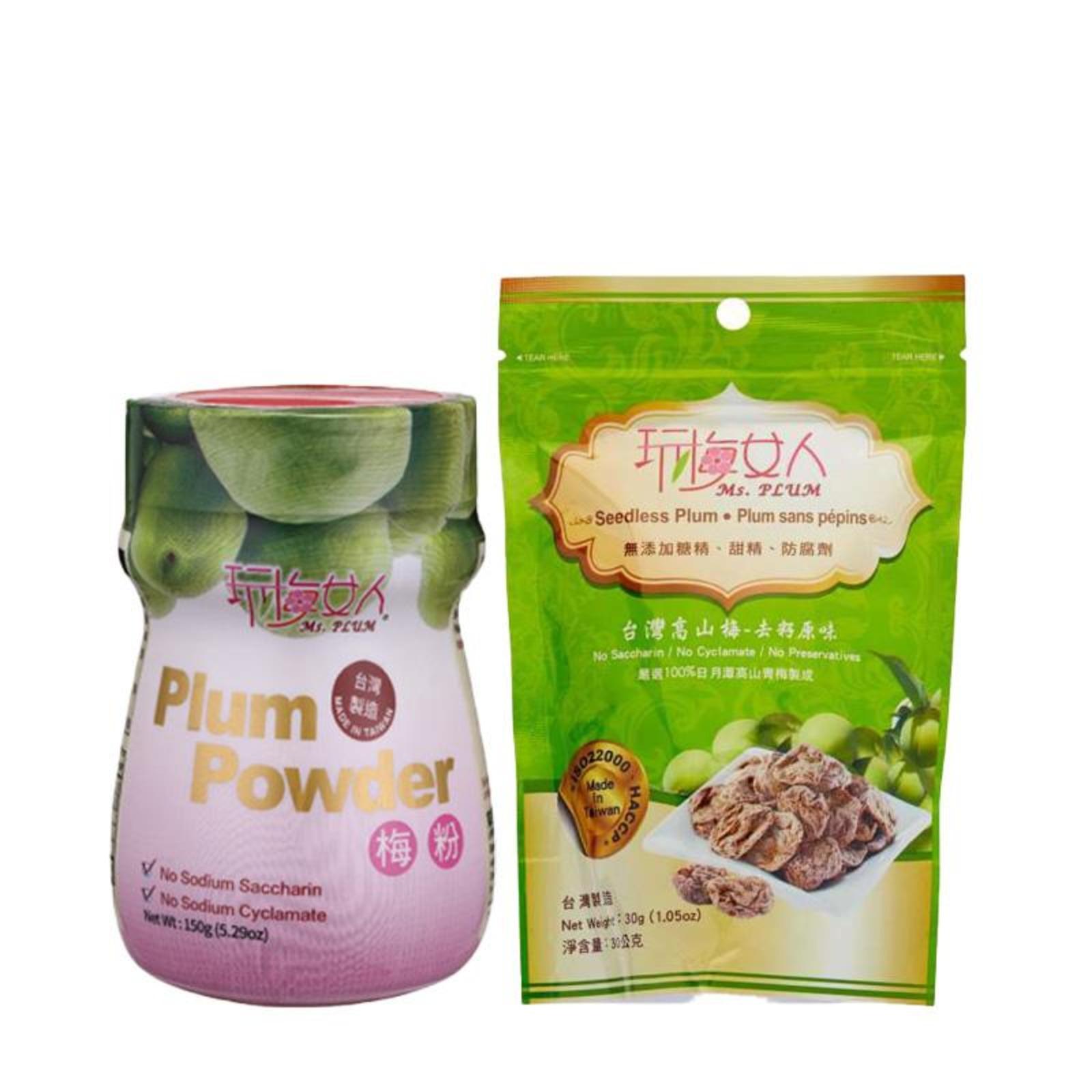 Ms Plum  Plum Powder and Seedless Plum