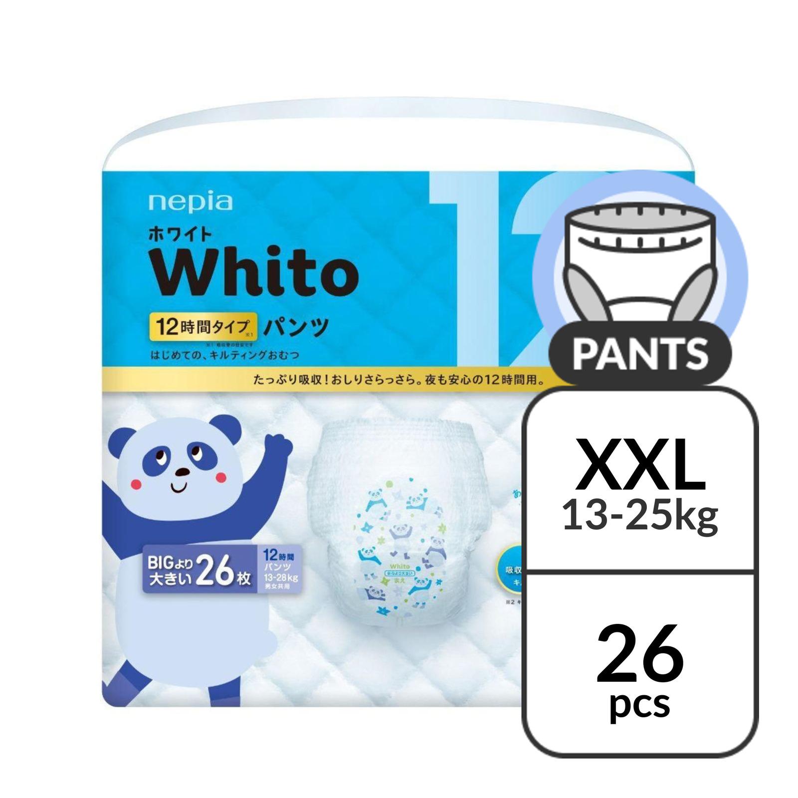 Nepia Whito Pants XXL 12H - (13-25kg) 26 pc