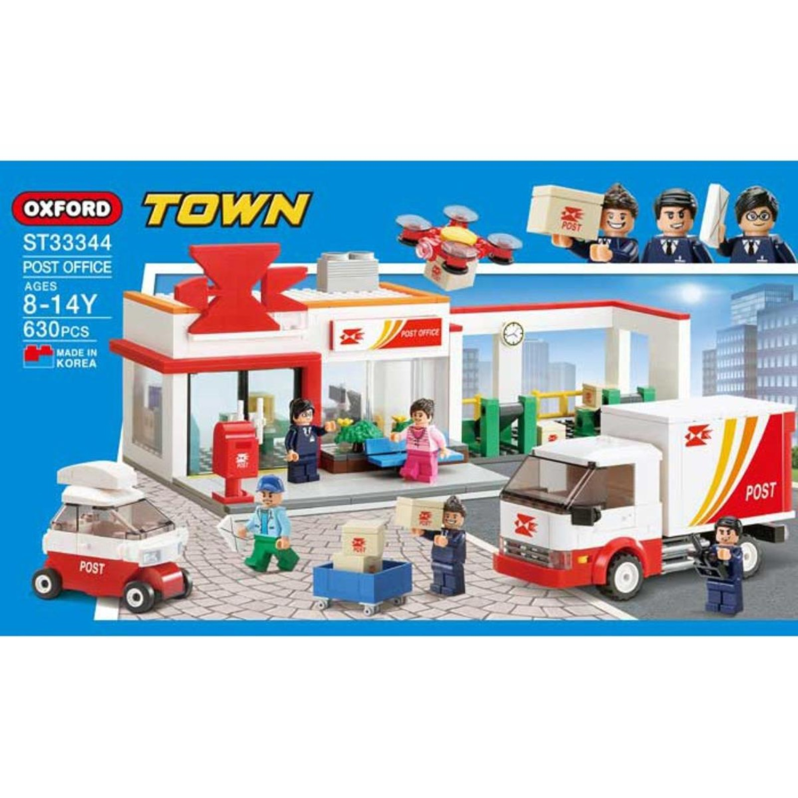 Oxford Toys Town Series (Post Office)(St33344)
