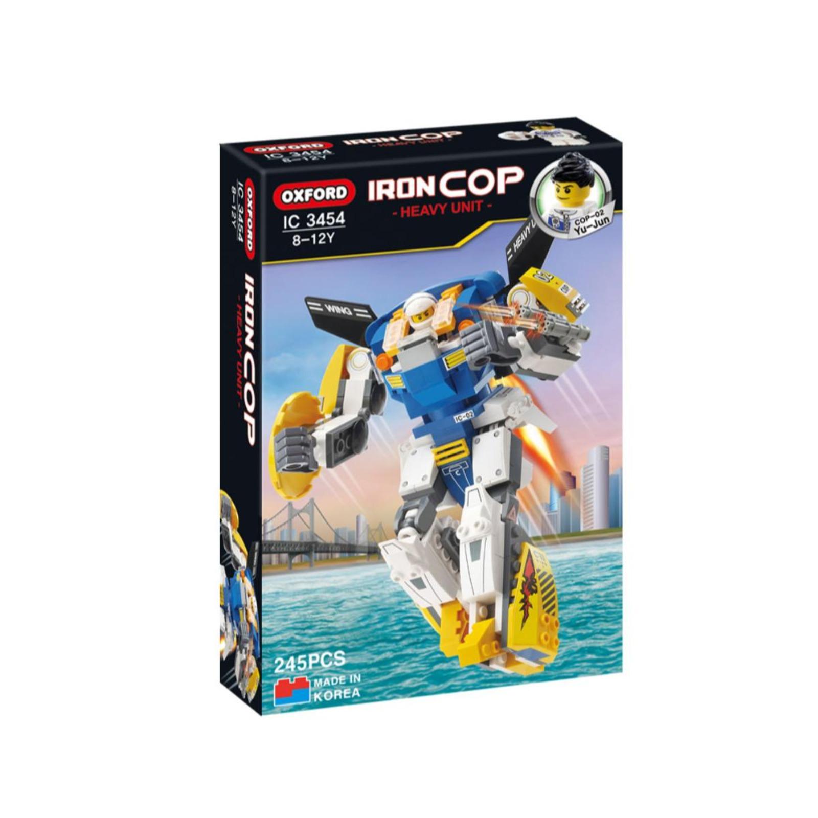 Oxford Toys Iron Cop (Air Robot) (Ic3454)