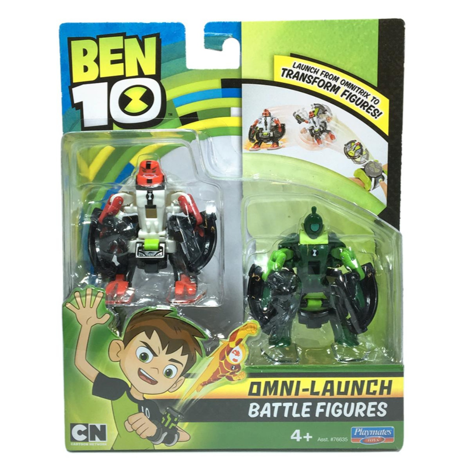 Ben10 Battle Fig-Oe Four Arms  and Oe Wildvine