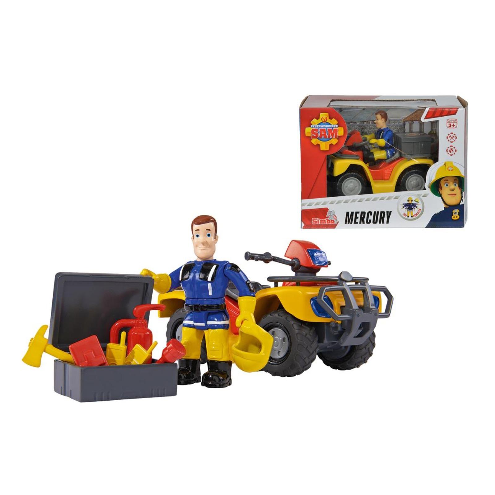 Simba Toys Fireman Sam - Quadbike Mercury